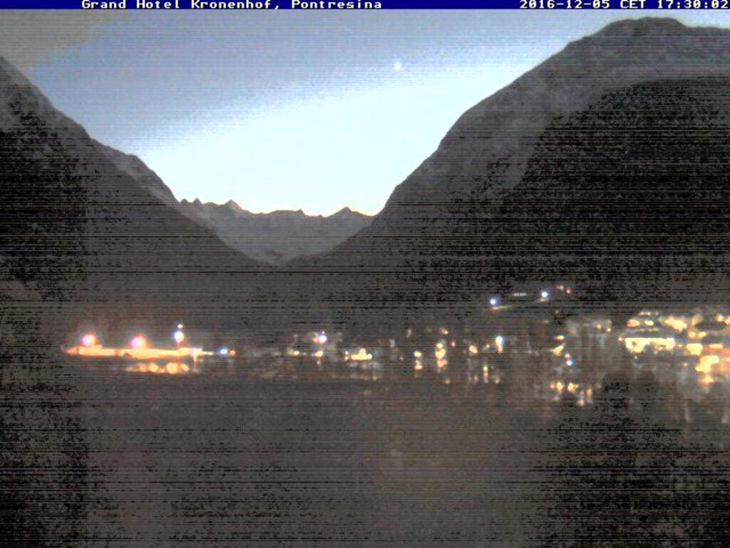 View from Hotel Kronenhof