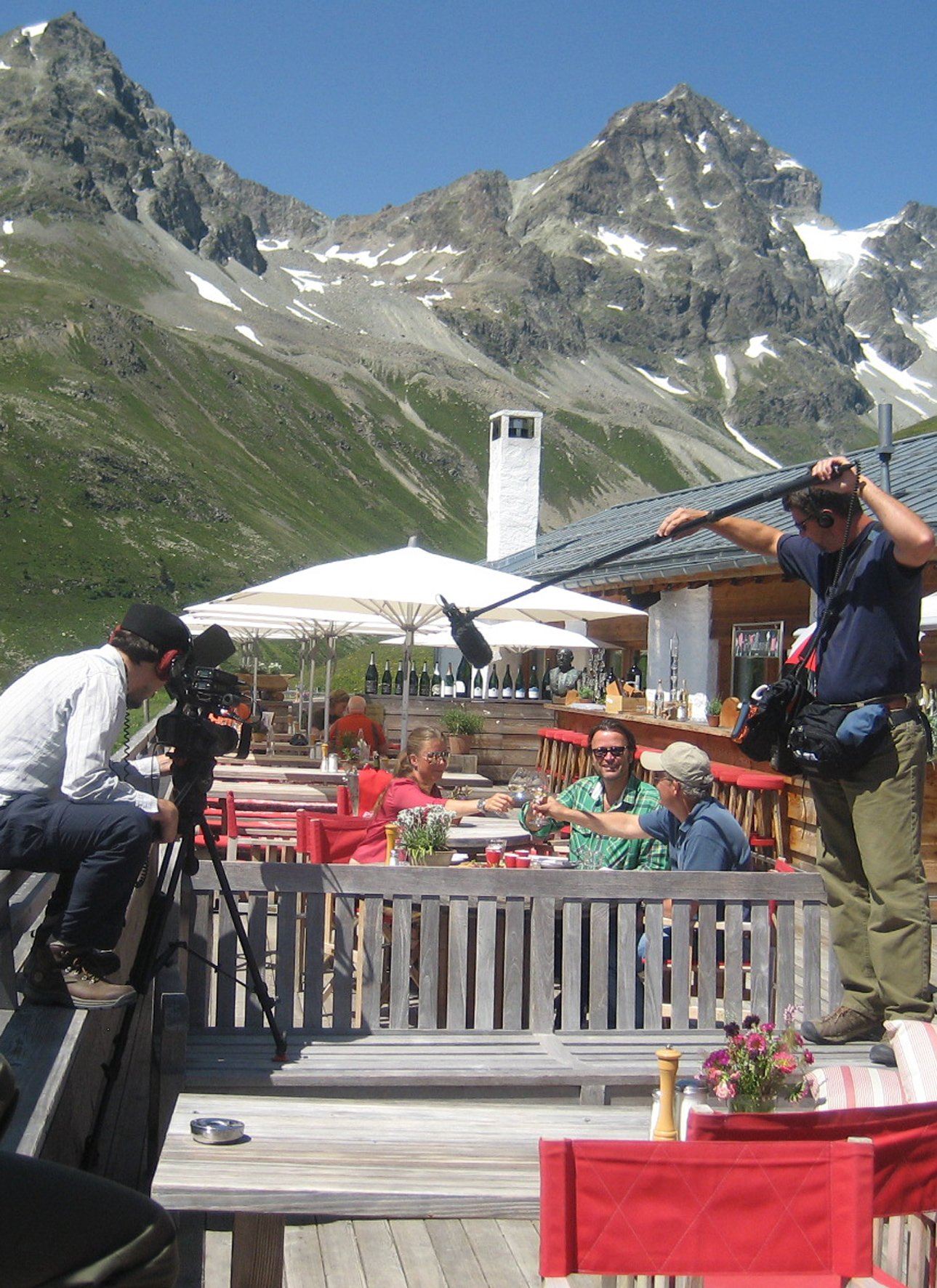 Sendung über Engadin St. Moritz über 3000 Mal ausgestrahlt Slide 1