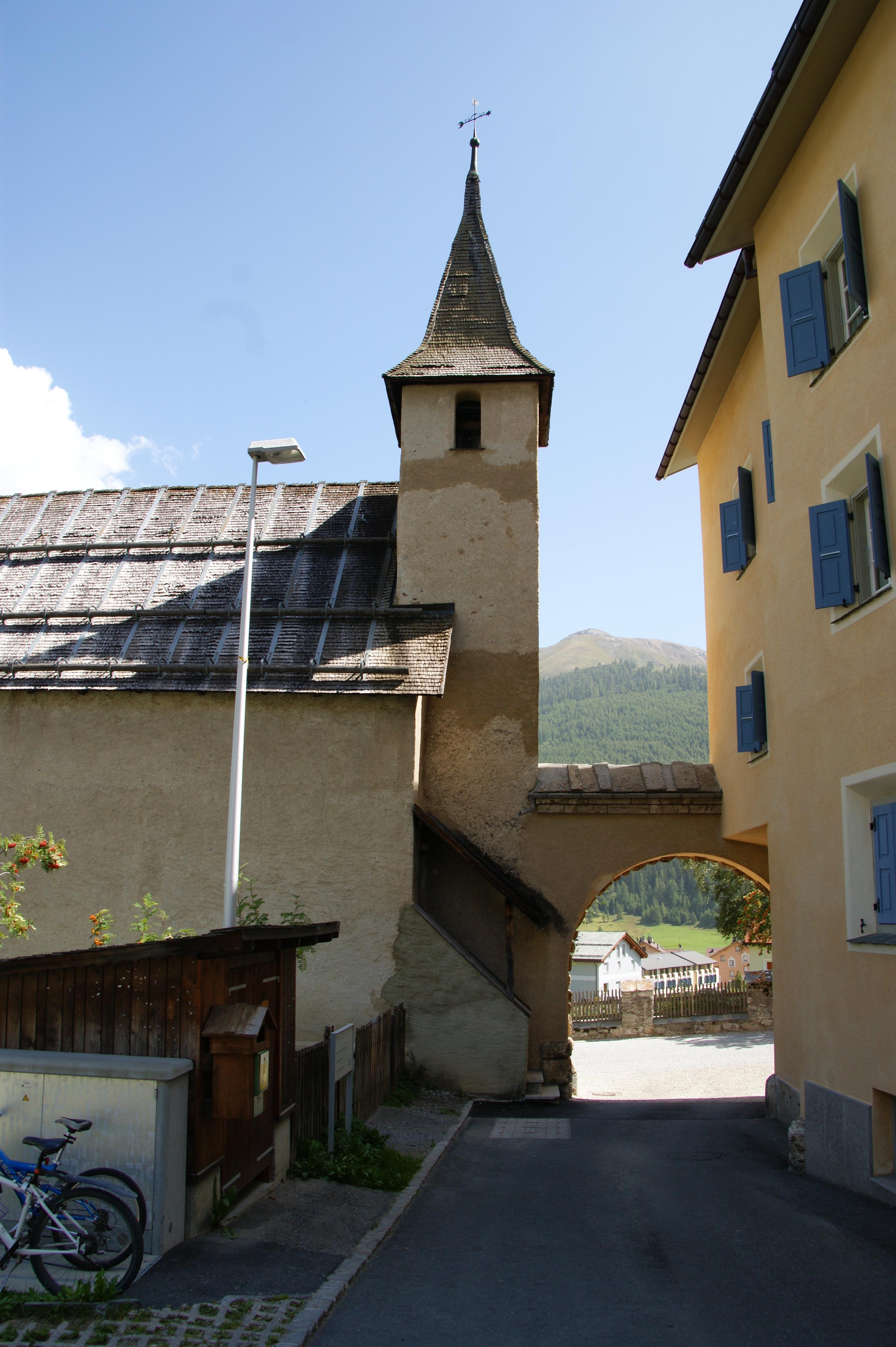 Katholische Kirche Santa Chatrigna Slide 3