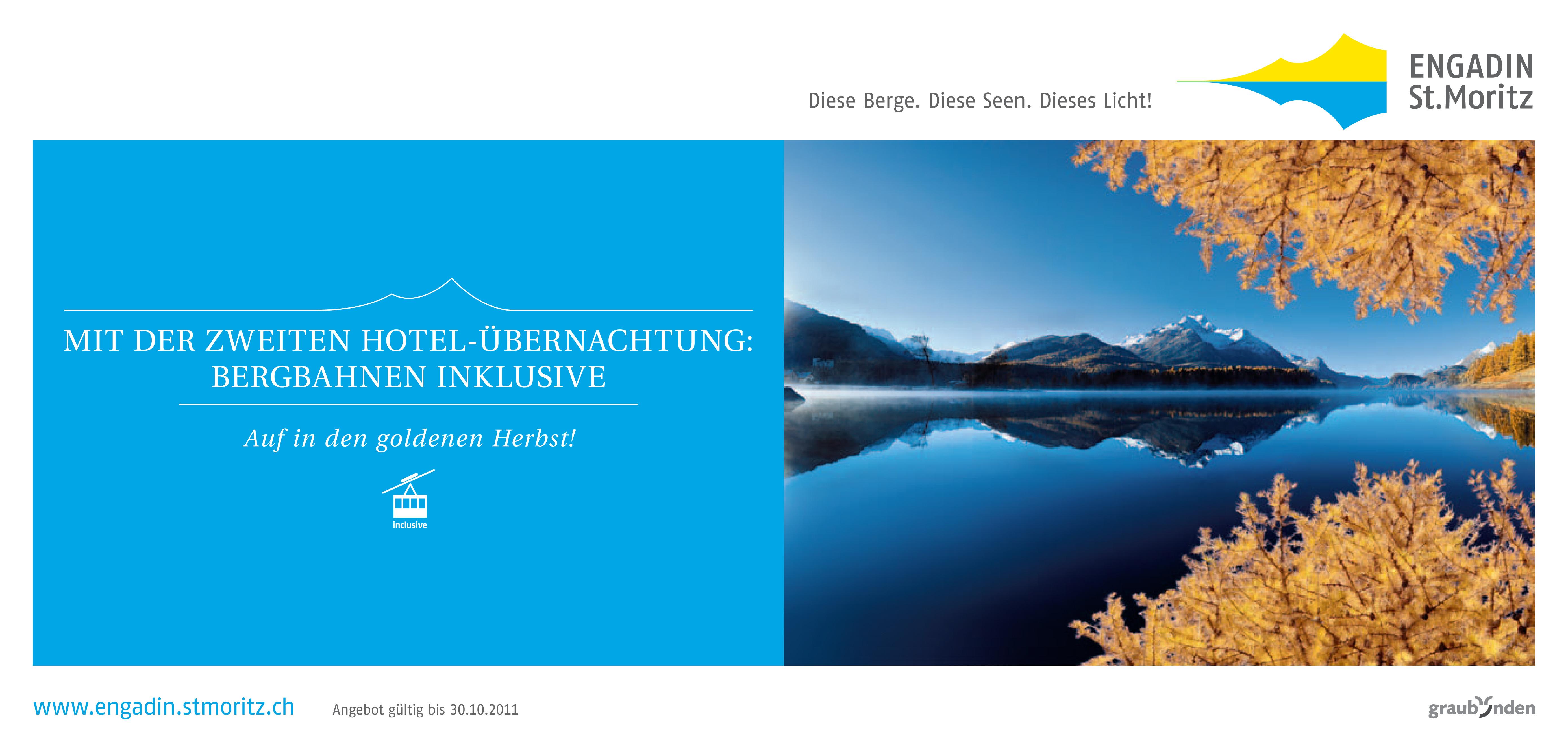 Herbstkampagne Engadin St. Moritz Slide 2