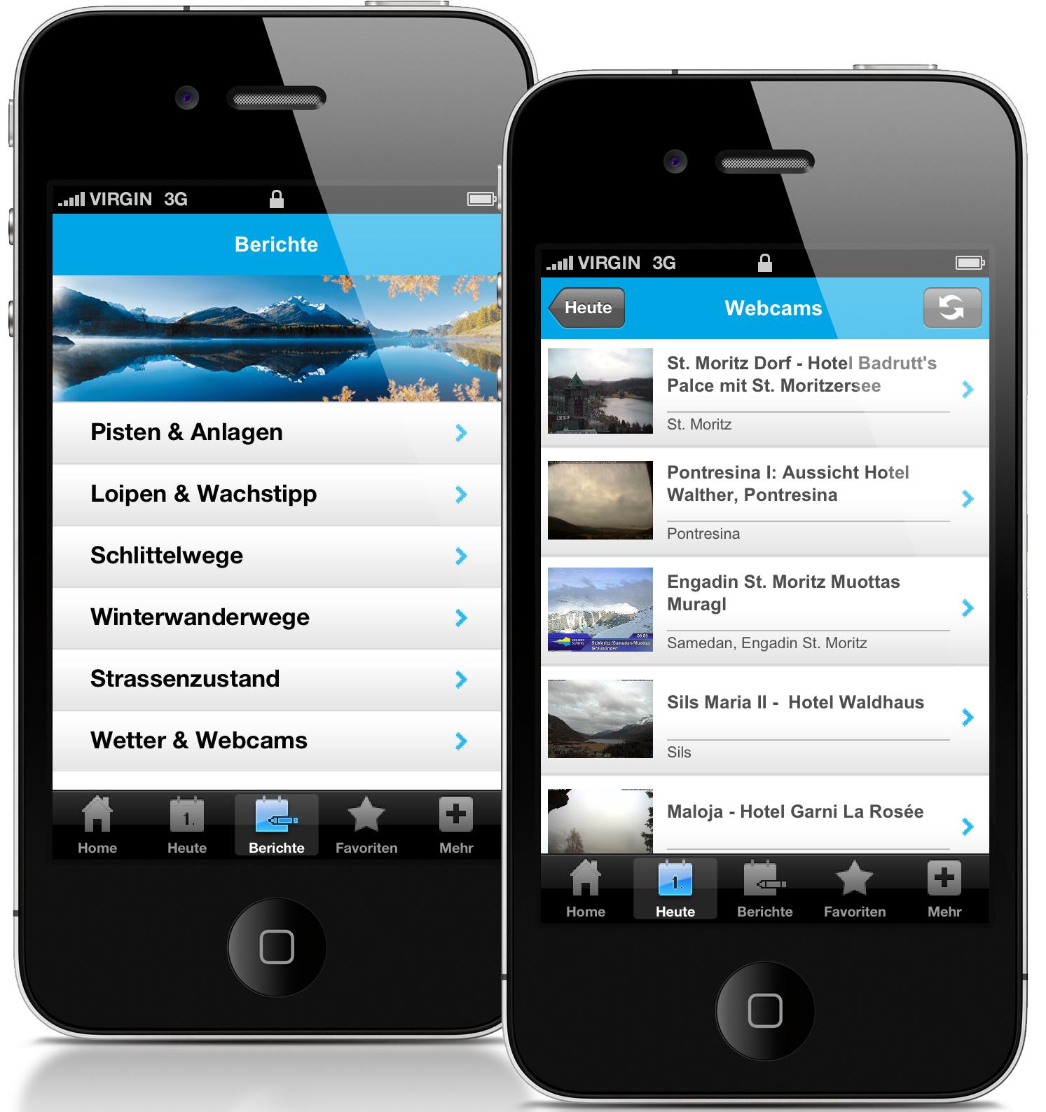 Neue Version der iPhone App Slide 1