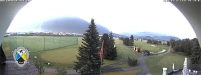 View from the Cross Country Center Samedan