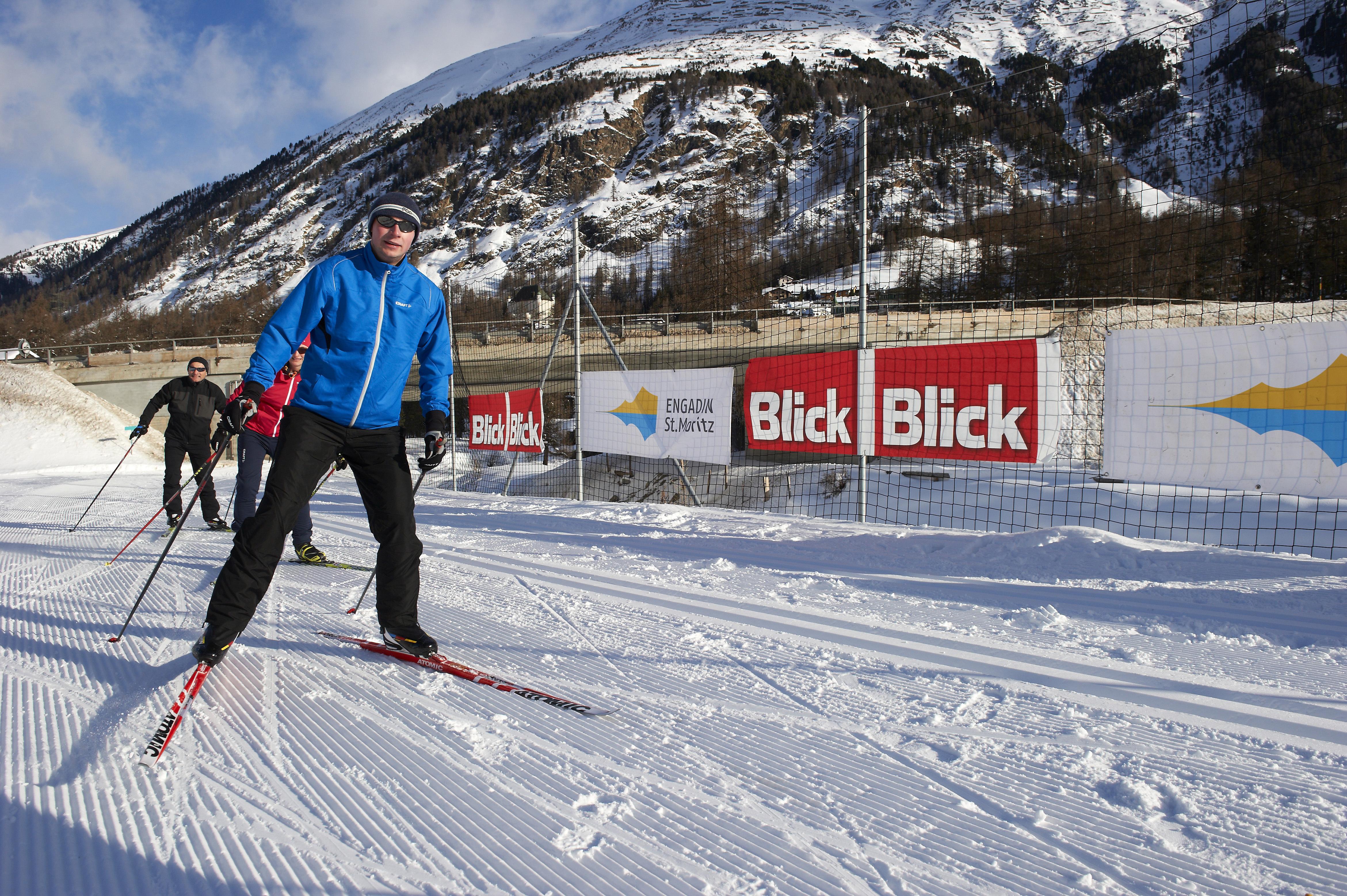 Vorbereitung auf den Engadin Skimarathon Slide 1