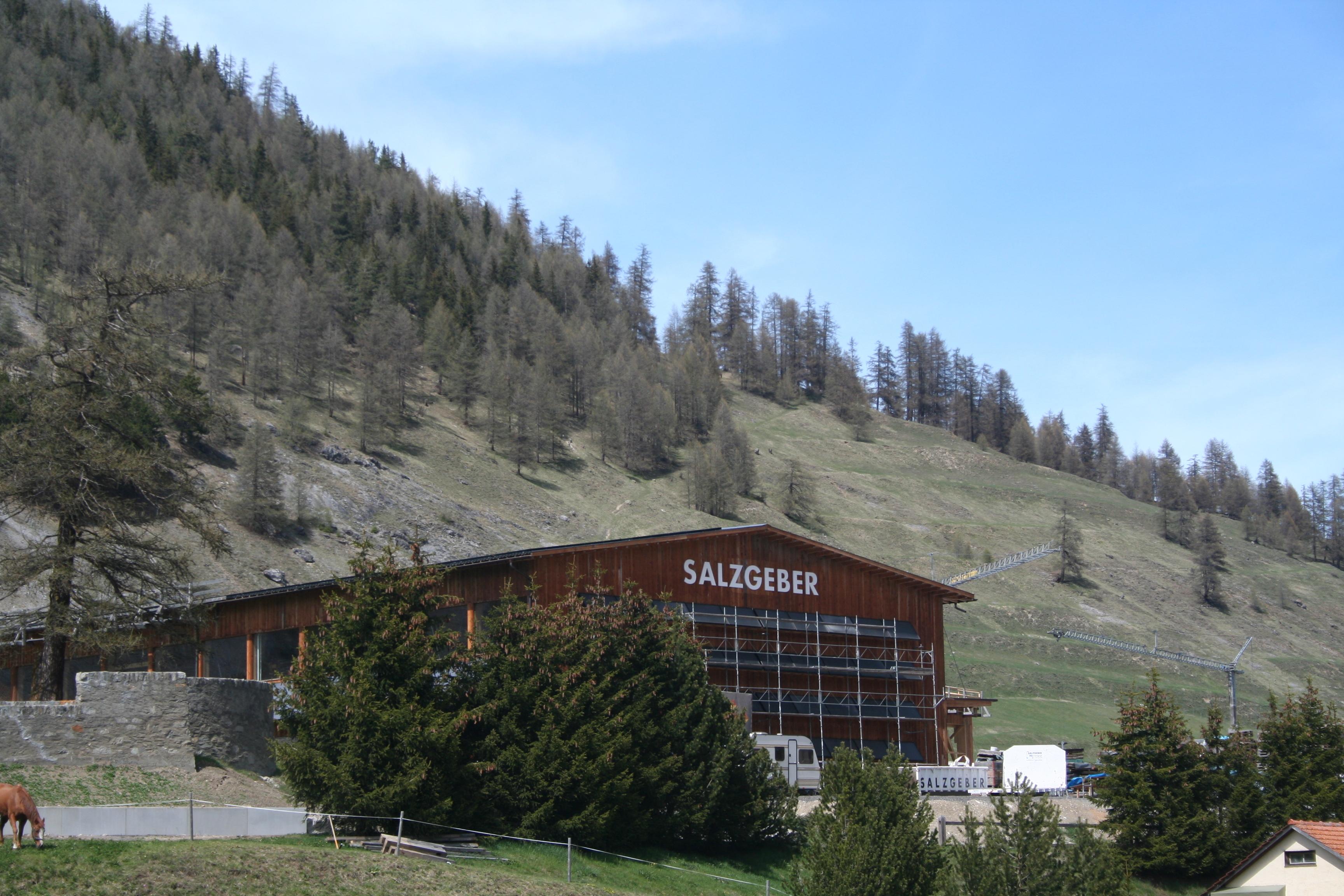 Salzgeber Holzbau Slide 3