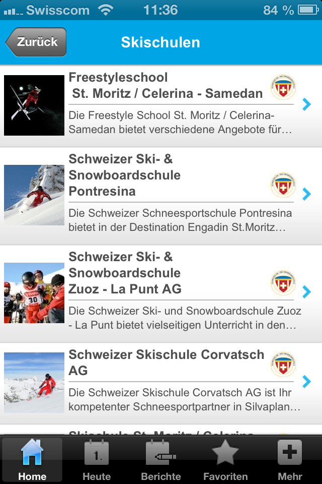 Update der iPhone App Slide 1