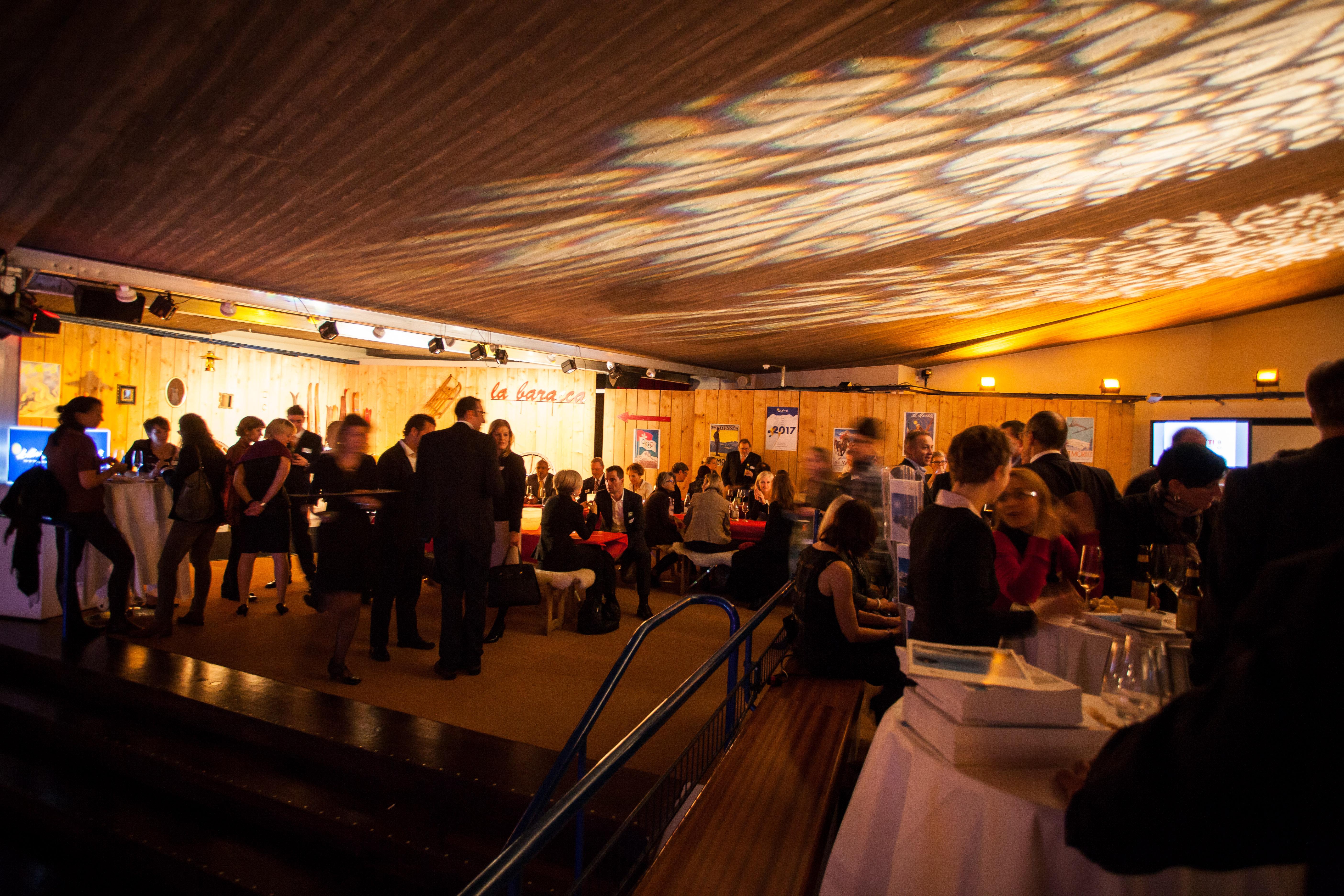 Promotionsauftritt von Engadin St. Moritz Slide 1