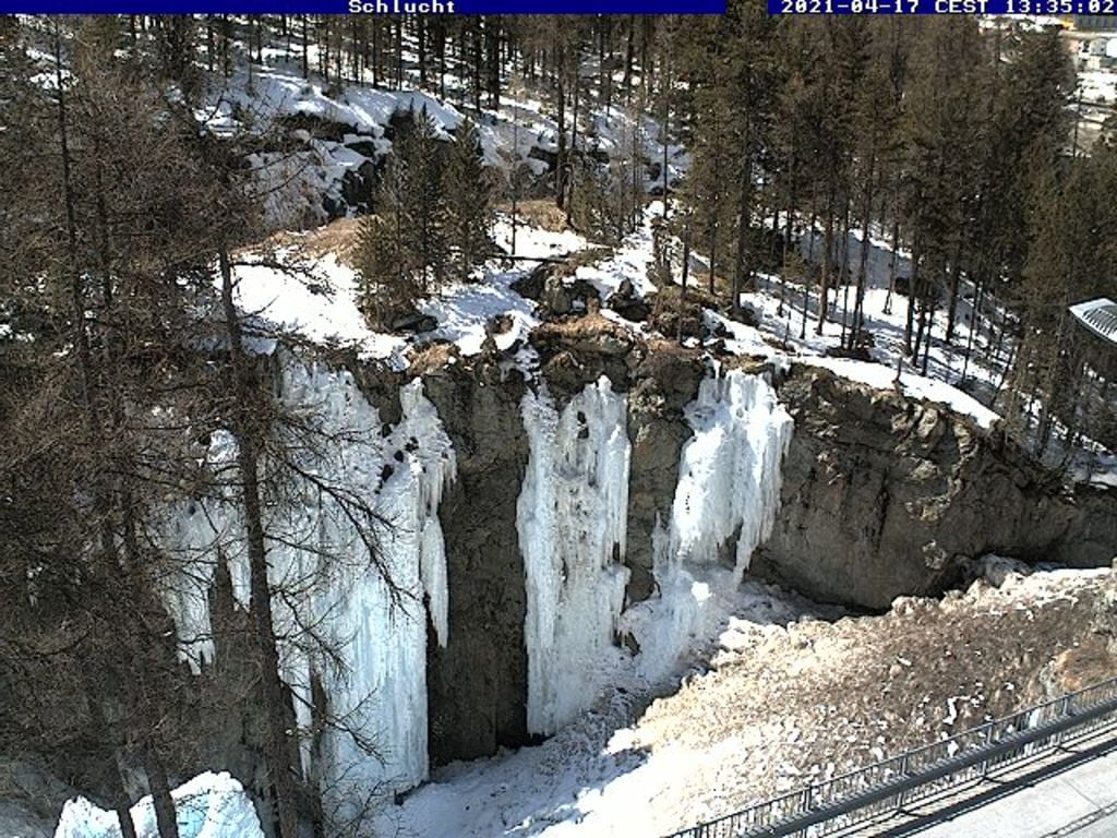 Pontresina - Escalade sur glace