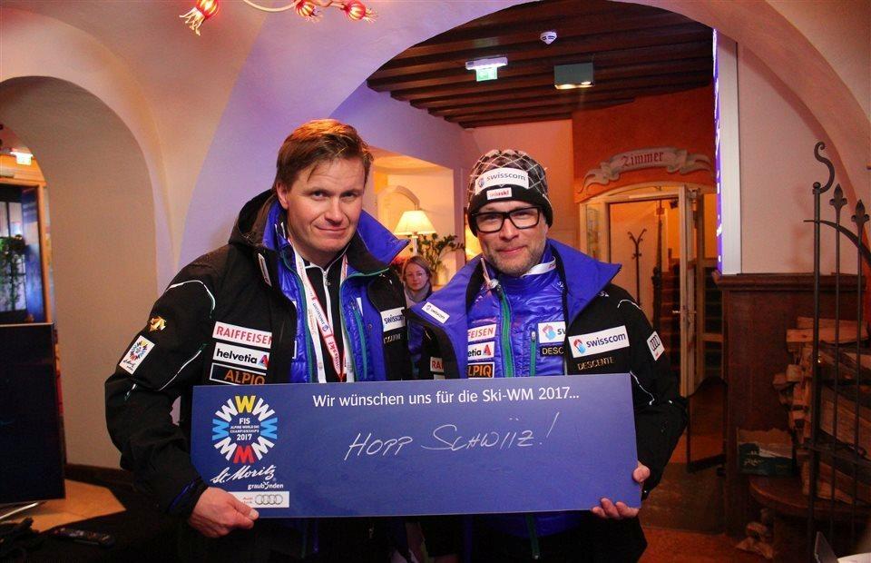 House of Switzerland an der Ski-WM Slide 3