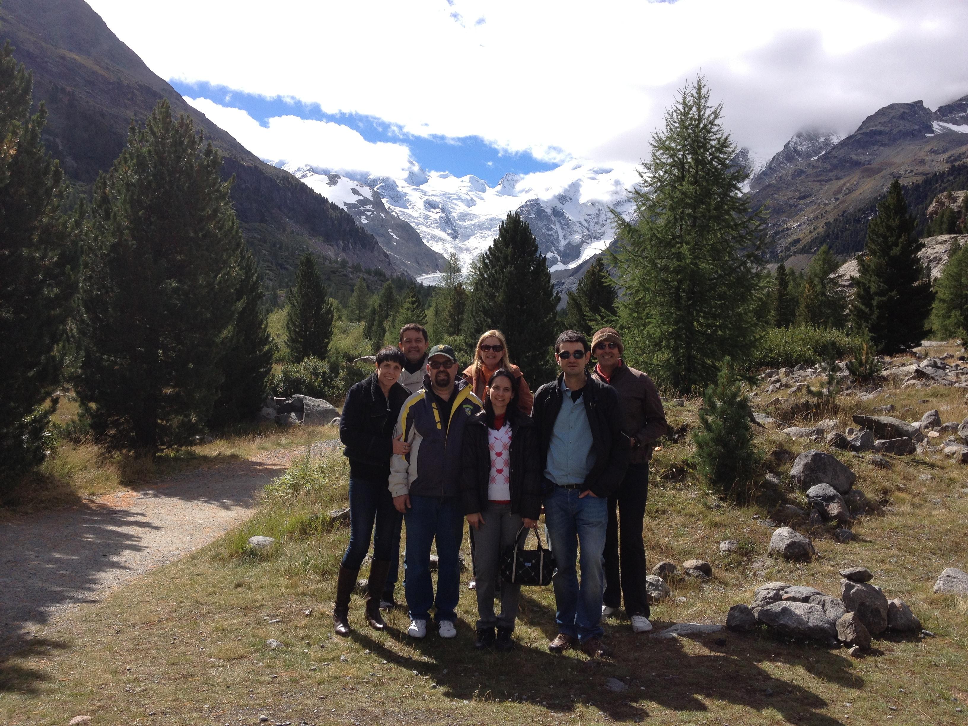 Brasilien zu Besuch in St. Moritz Slide 1