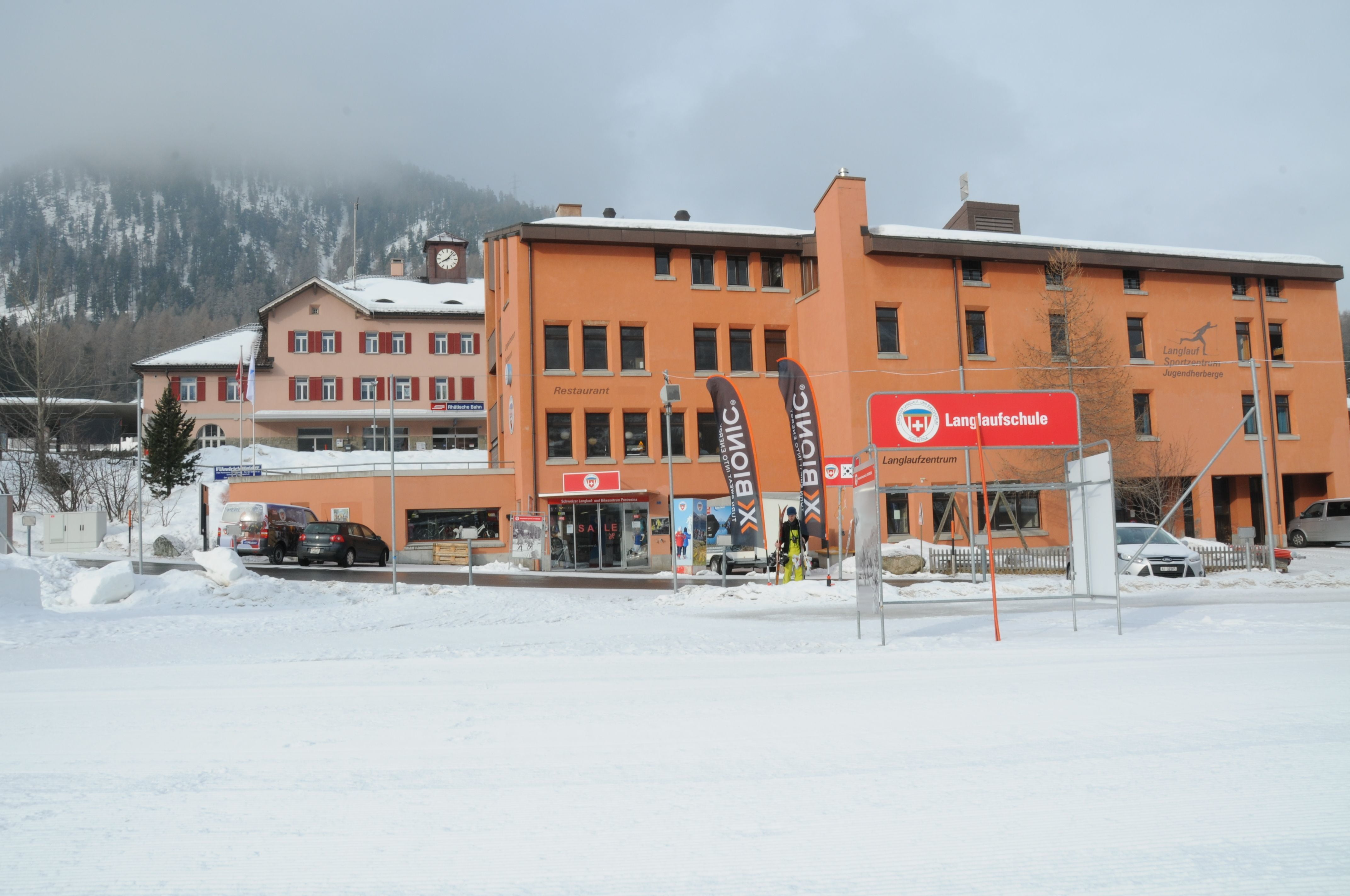 Corss-country ski center
