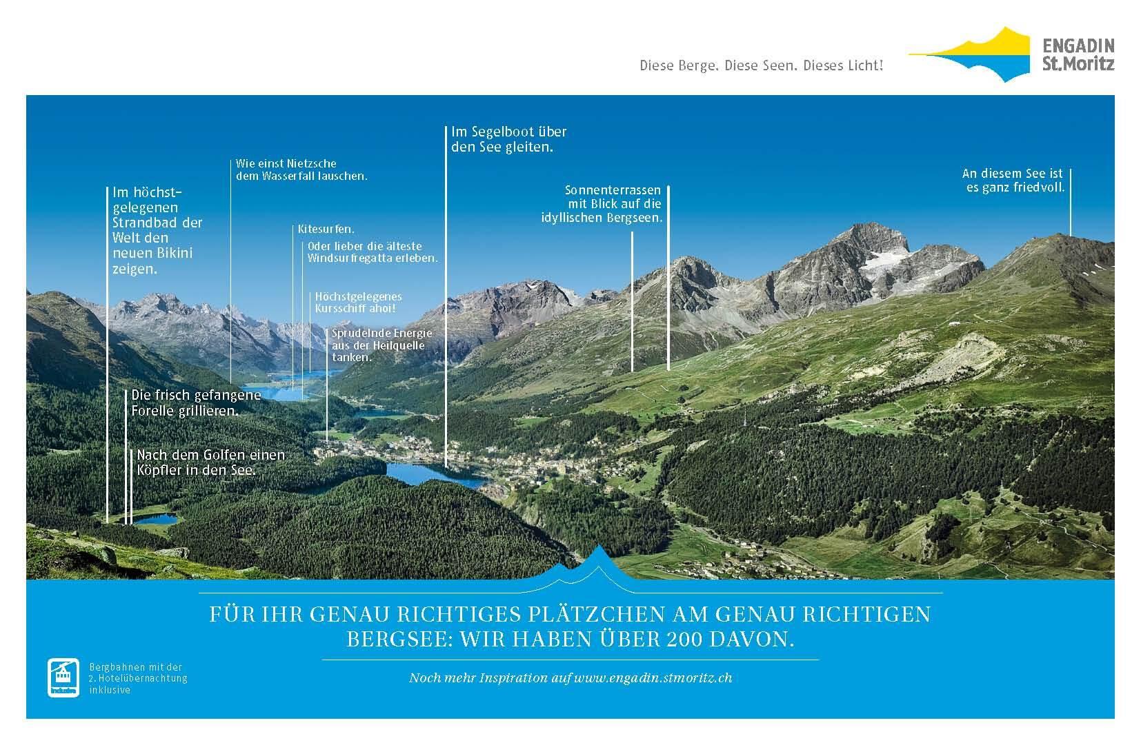 Sommer in Engadin St. Moritz Slide 1