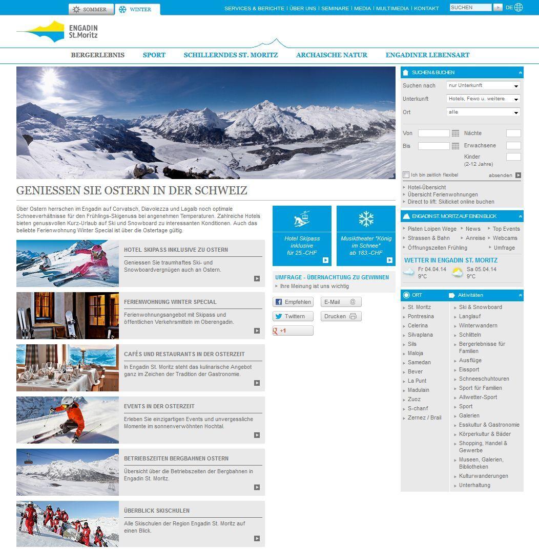 Ostern auf www.engadin.stmoritz.ch Slide 1