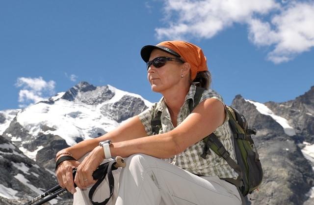 Christine Salis (Wanderleiterin ASAM/SWL mit eidg. Fachausweis) Slide 1