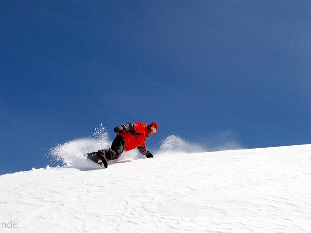 True Values Snowboard School Slide 1