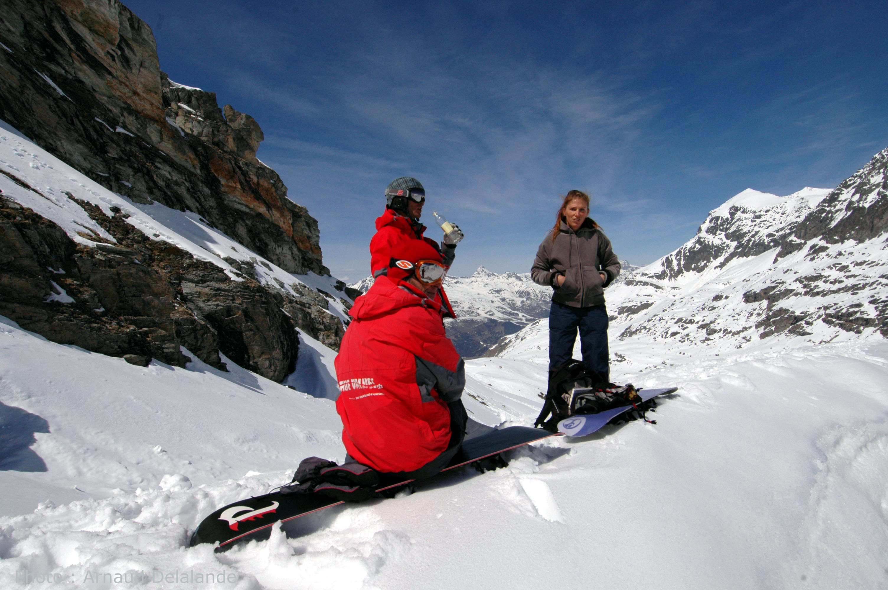 True Values Snowboard School Slide 2