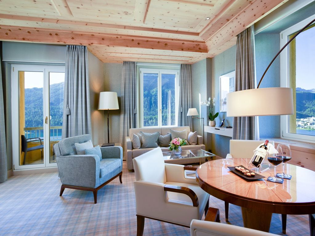 Kulm Hotel St Moritz Geschichte