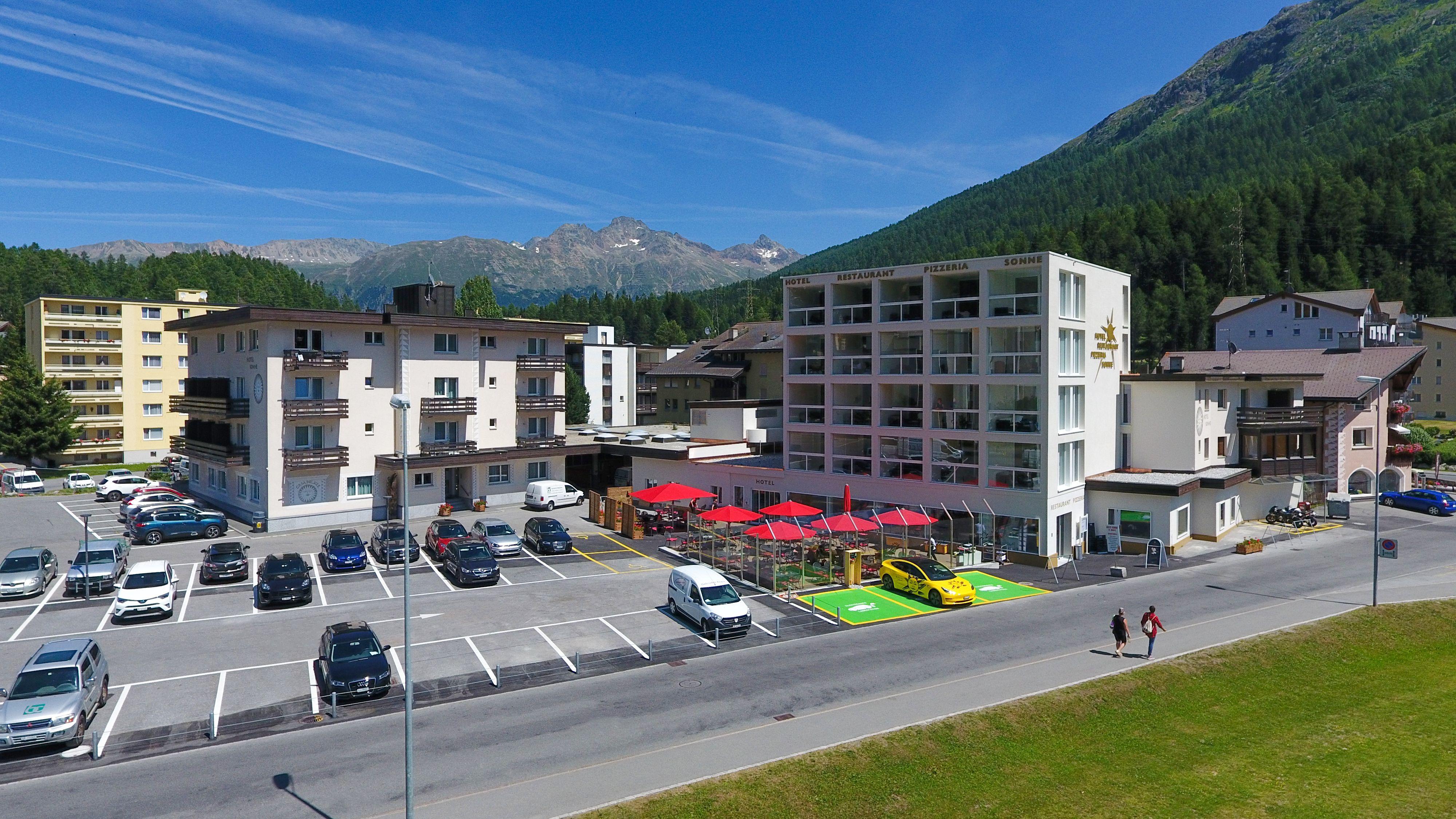 Hotel Restaurant Pizzeria Sonne St. Moritz