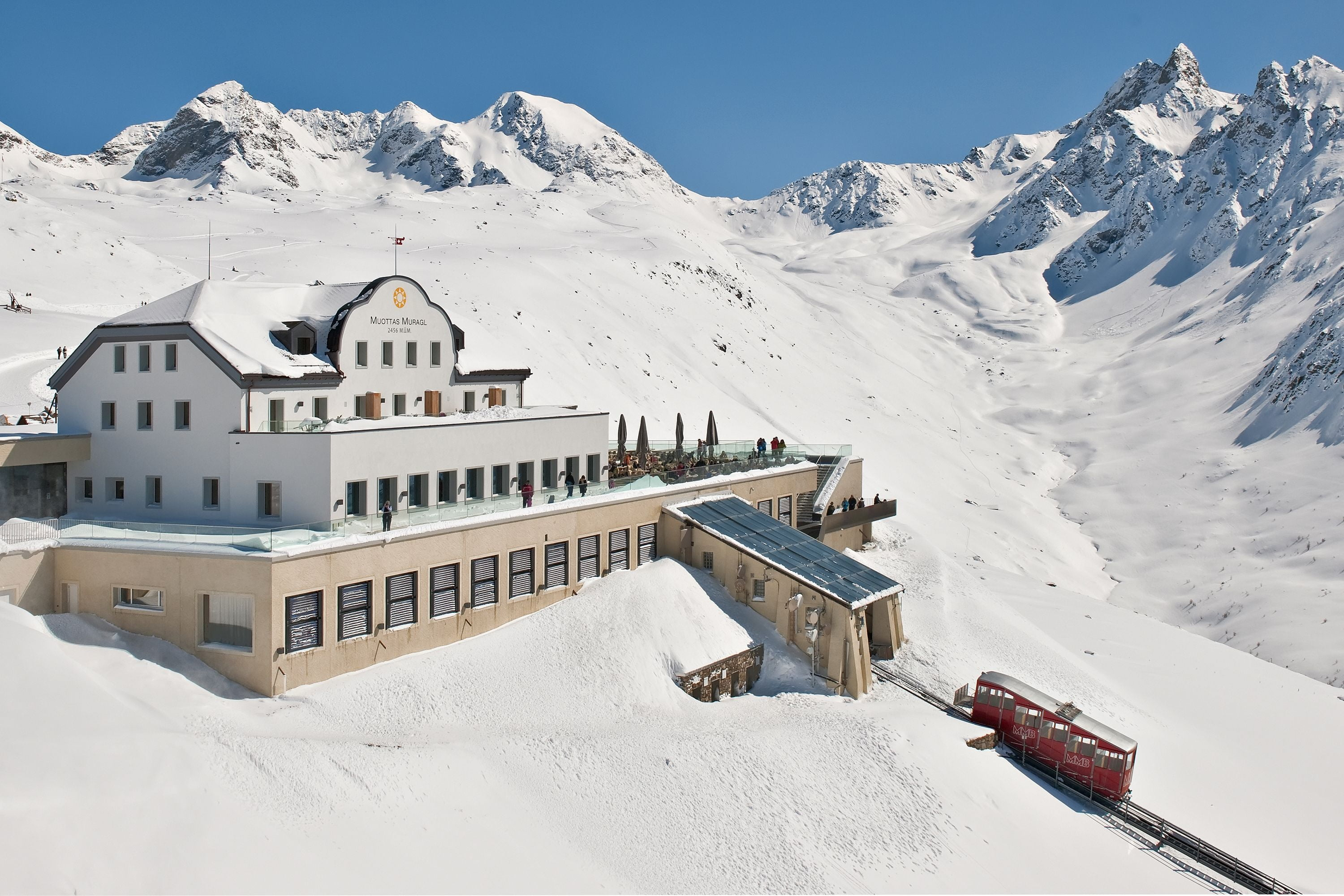 A big plus for the Engadin