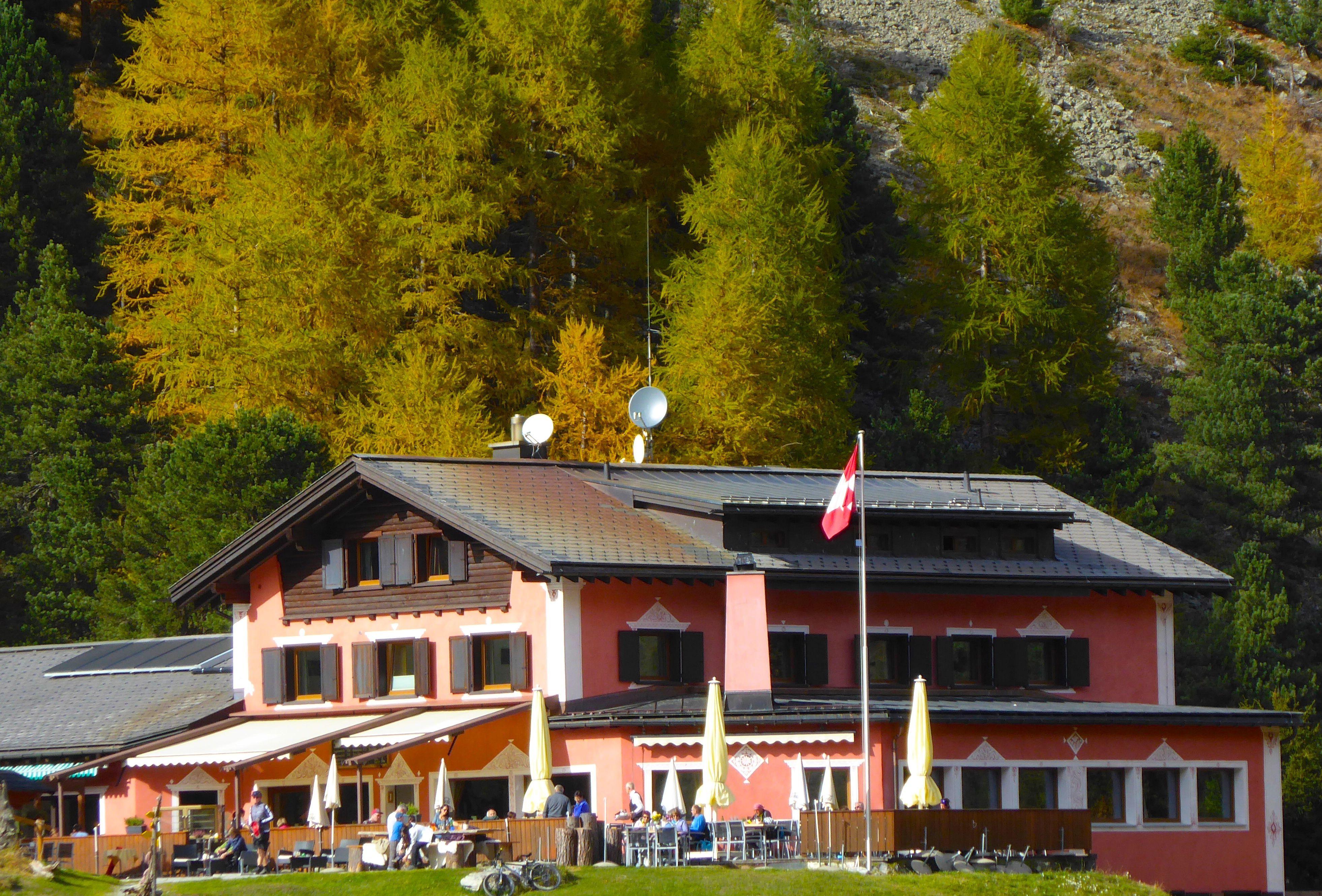 Hotel-Restaurant Roseg Gletscher