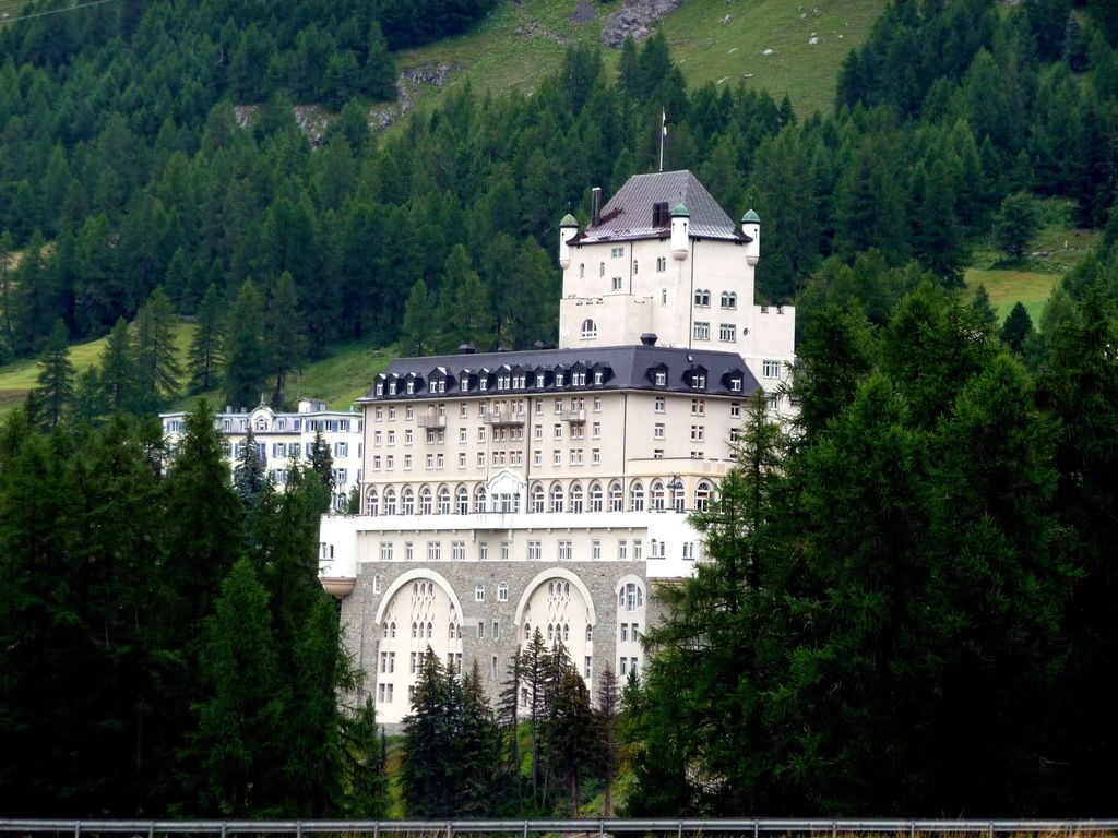 Hotel Schloss Pontresina Family Spa