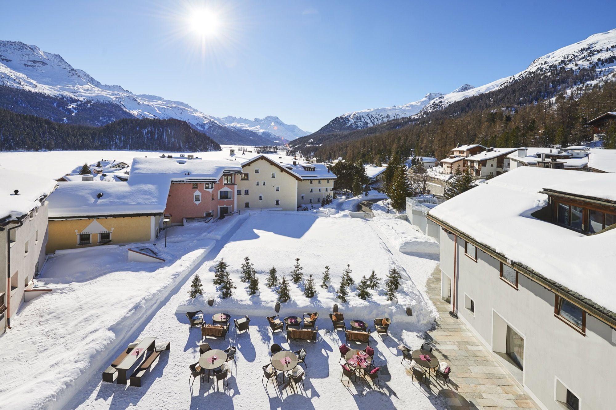 Giardino Mountain, St. Moritz-Champfèr