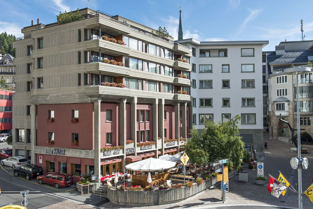 St Moritz Hotel Hauser
