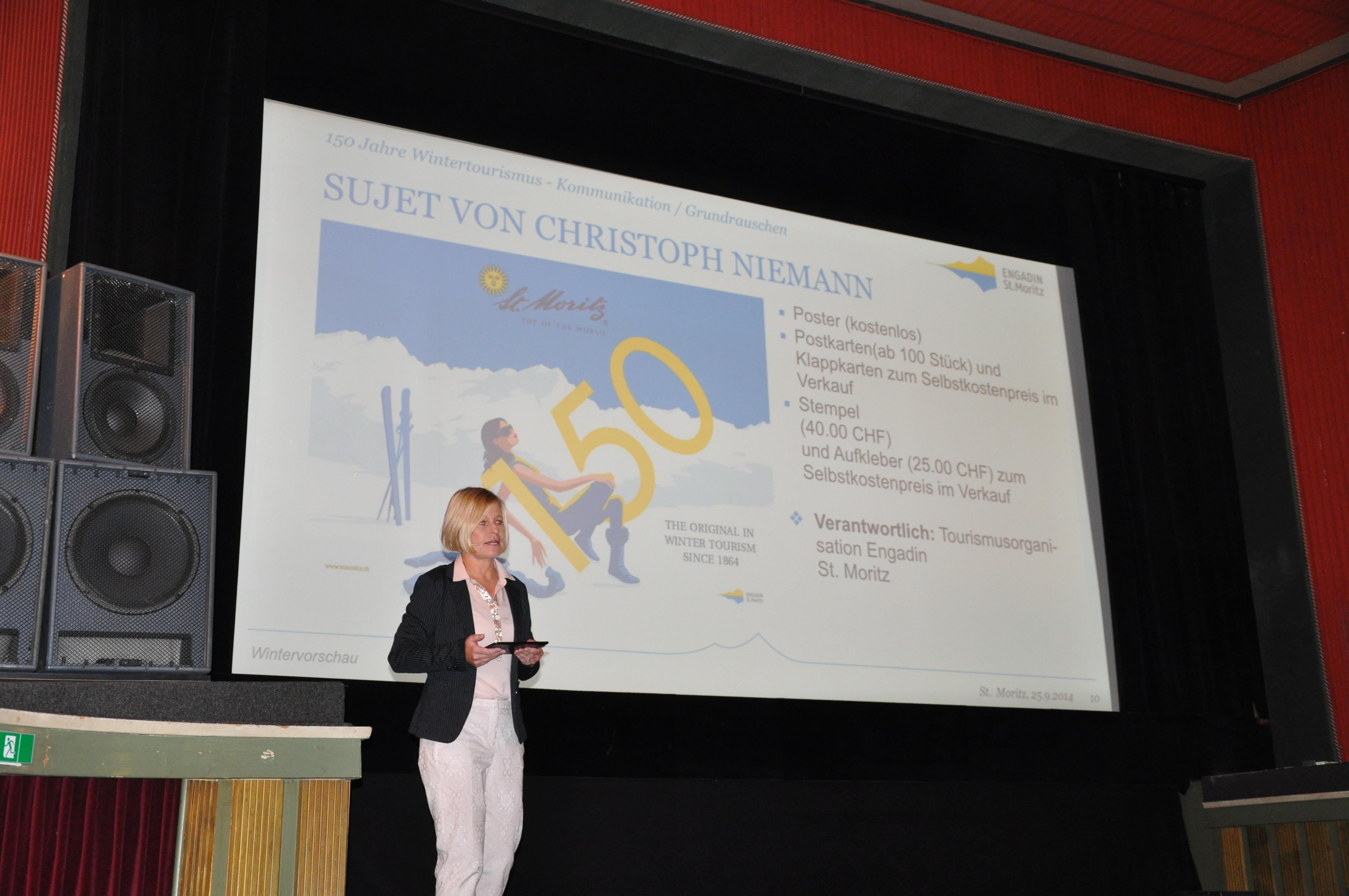Programm «150 Jahre Wintertourismus» vorgestellt Slide 1