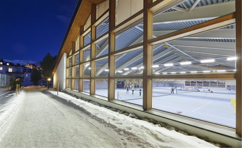Tennis & Squash Center St. Moritz, St. Moritz