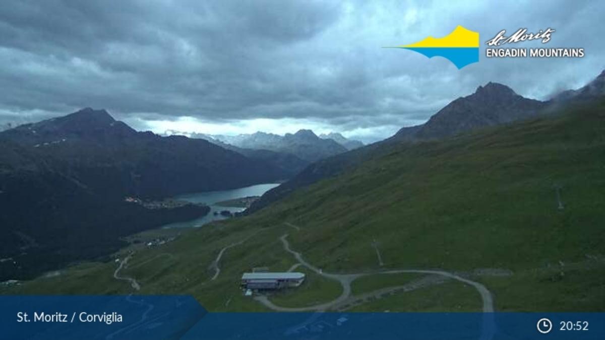 St. Moritz webcam - Corviglia