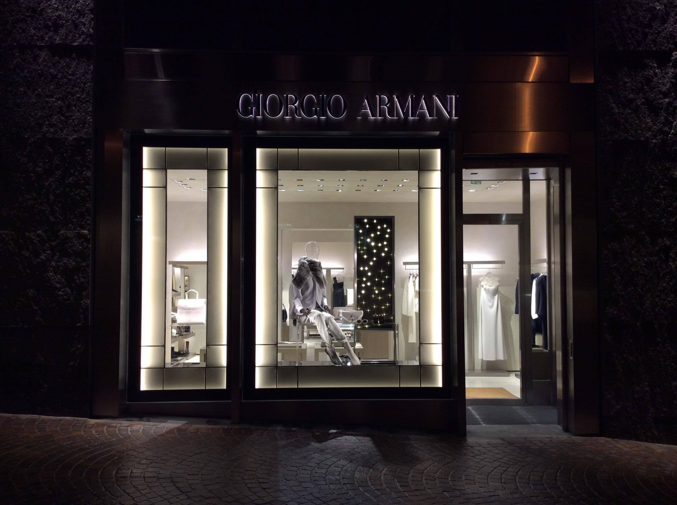 Giorgio Armani Slide 1