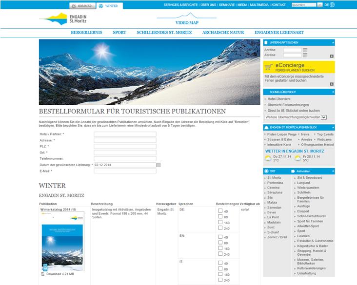 Informationsmaterial für Hotels und Partner Slide 1
