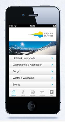 iPhone App Winter Slide 1