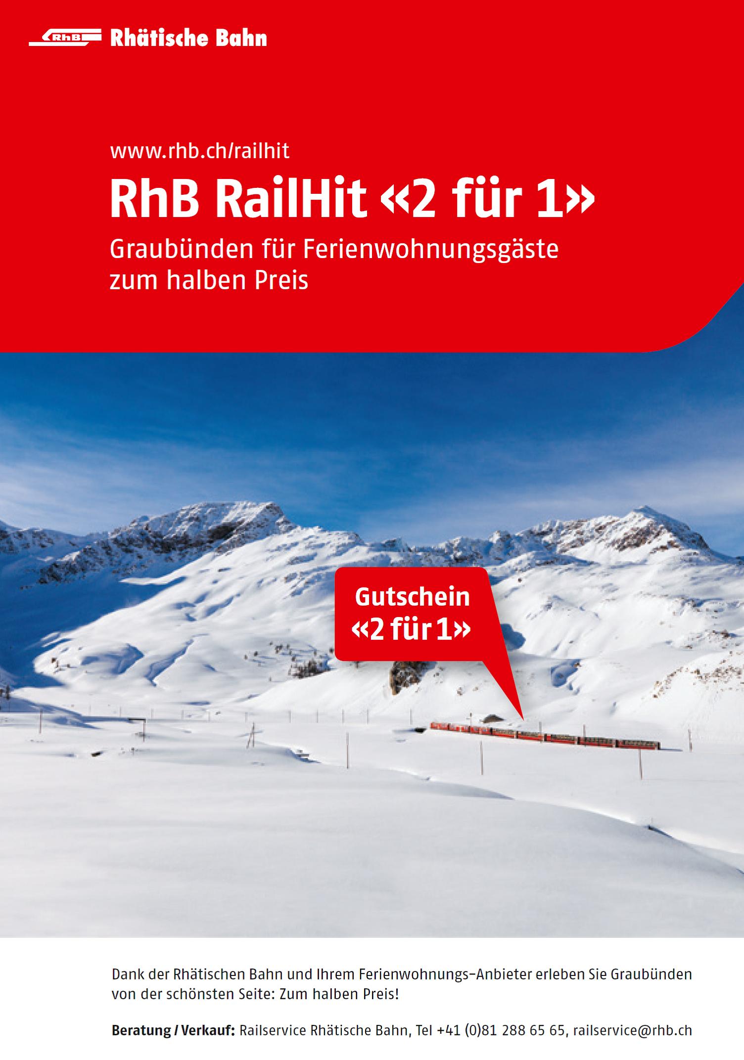 «RailHit» der Rhätischen Bahn Slide 1