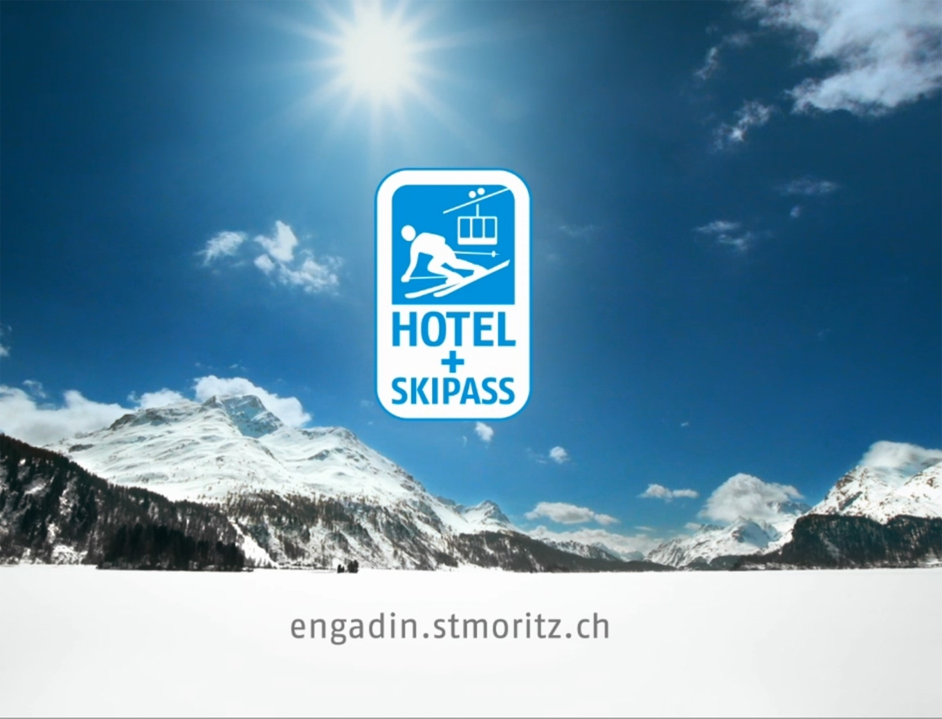 "TV-Spot ""Hotel und Skipass"" Slide 1"