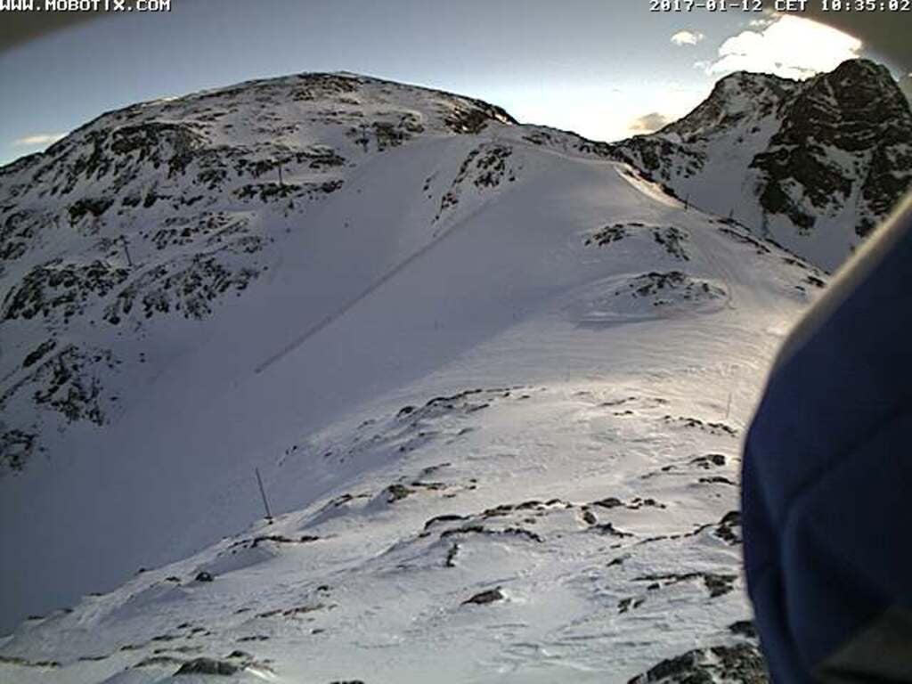 Diavolezza Ski slope