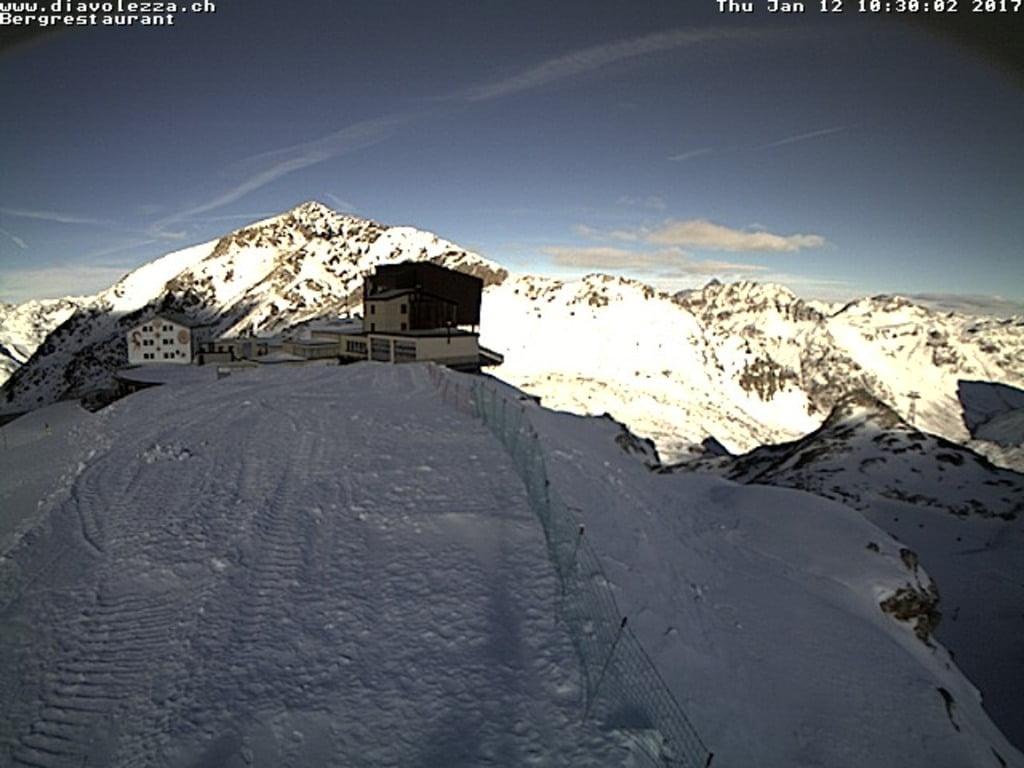 Diavolezza, maison de montagne