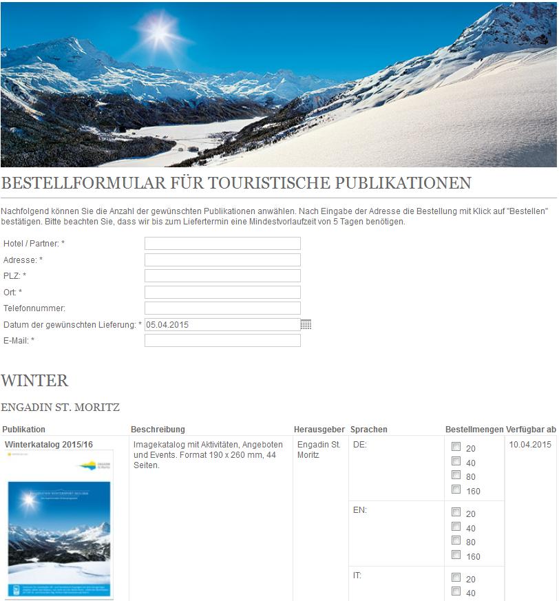 Touristische Publikationen für Hotels und Leistungsträger Slide 1