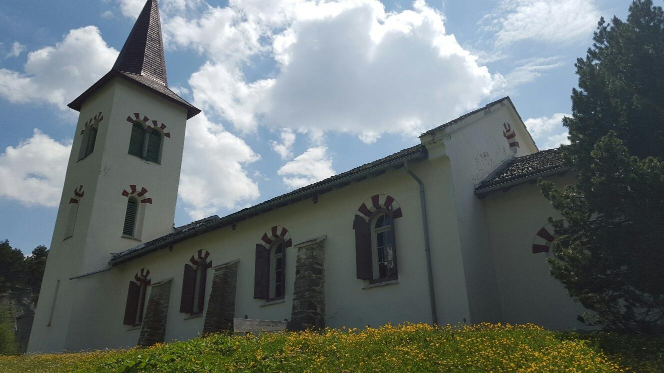 Chiesa Bianca, the White Church Slide 1