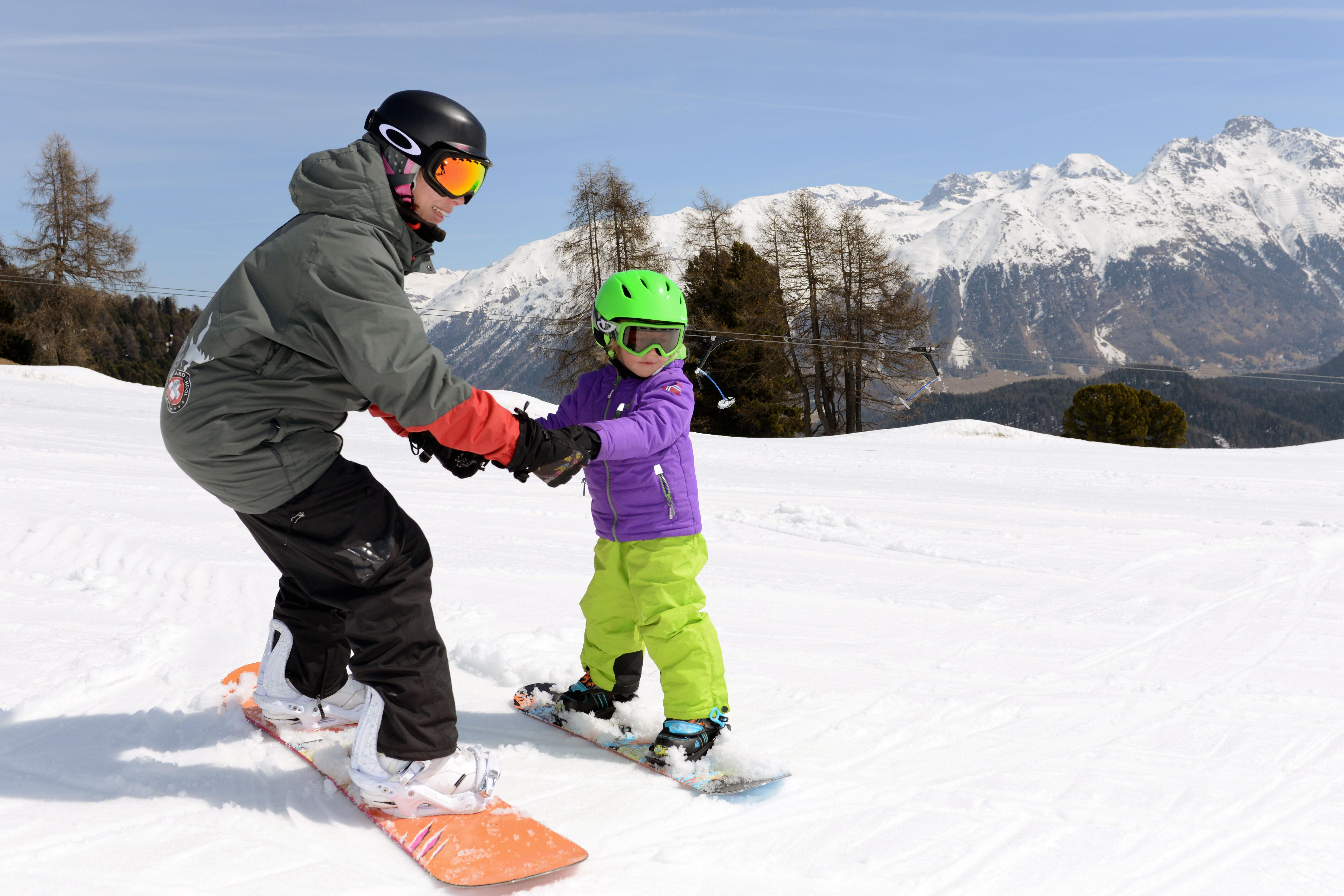 Schweizer Skischule St. Moritz Slide 1