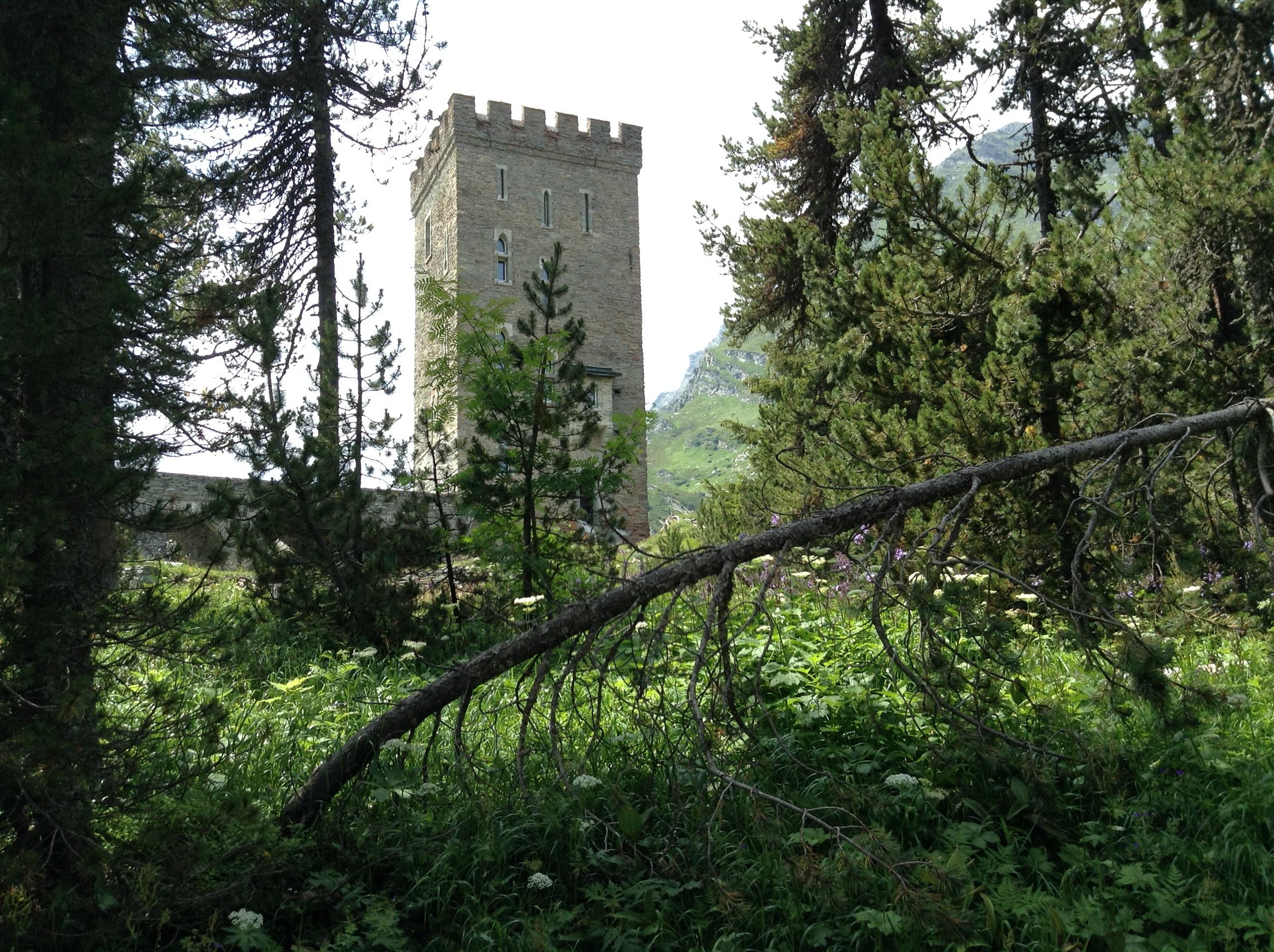 Turm Belvedere Slide 1
