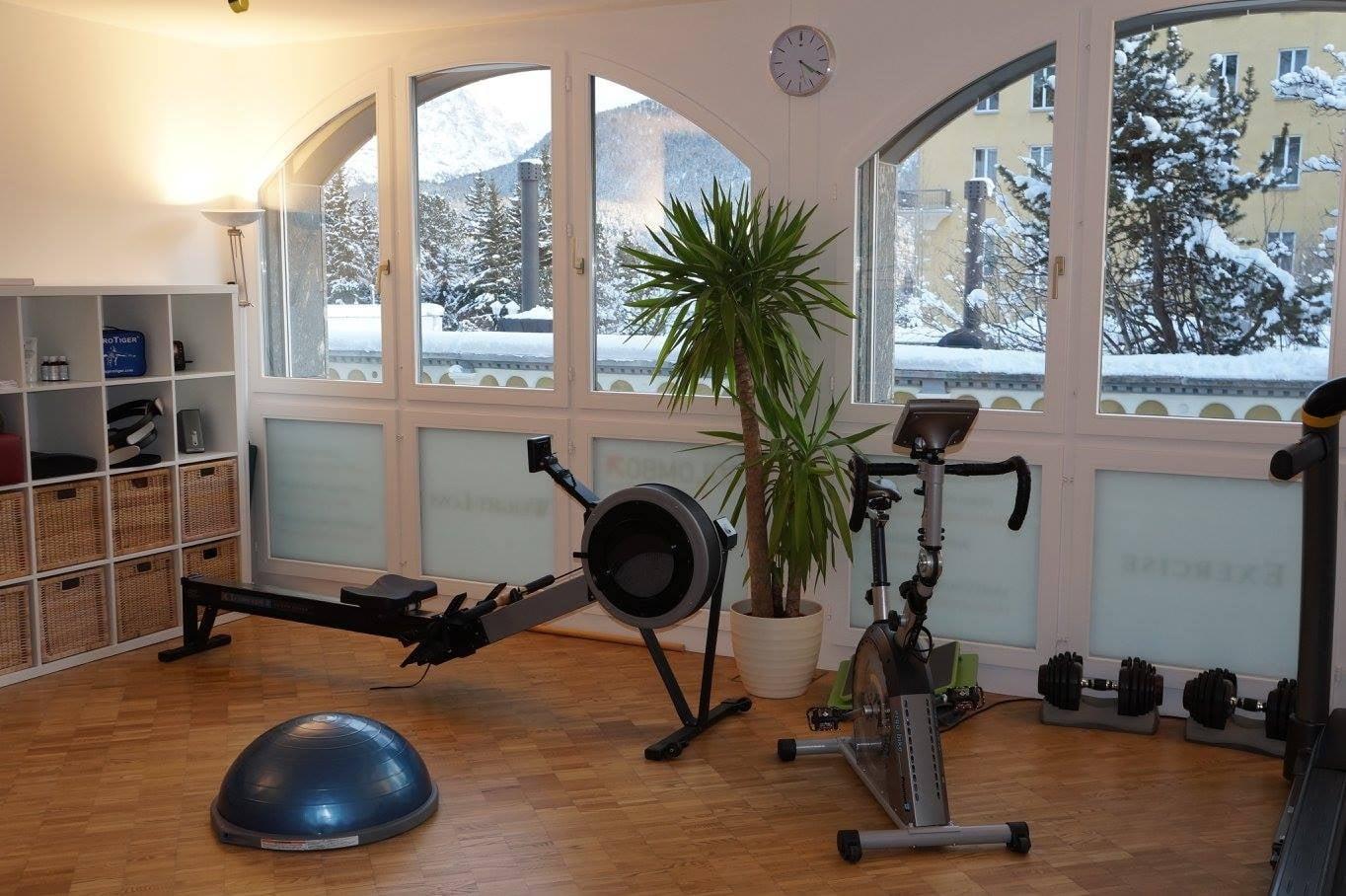 Personal Training, St. Moritz Dorf