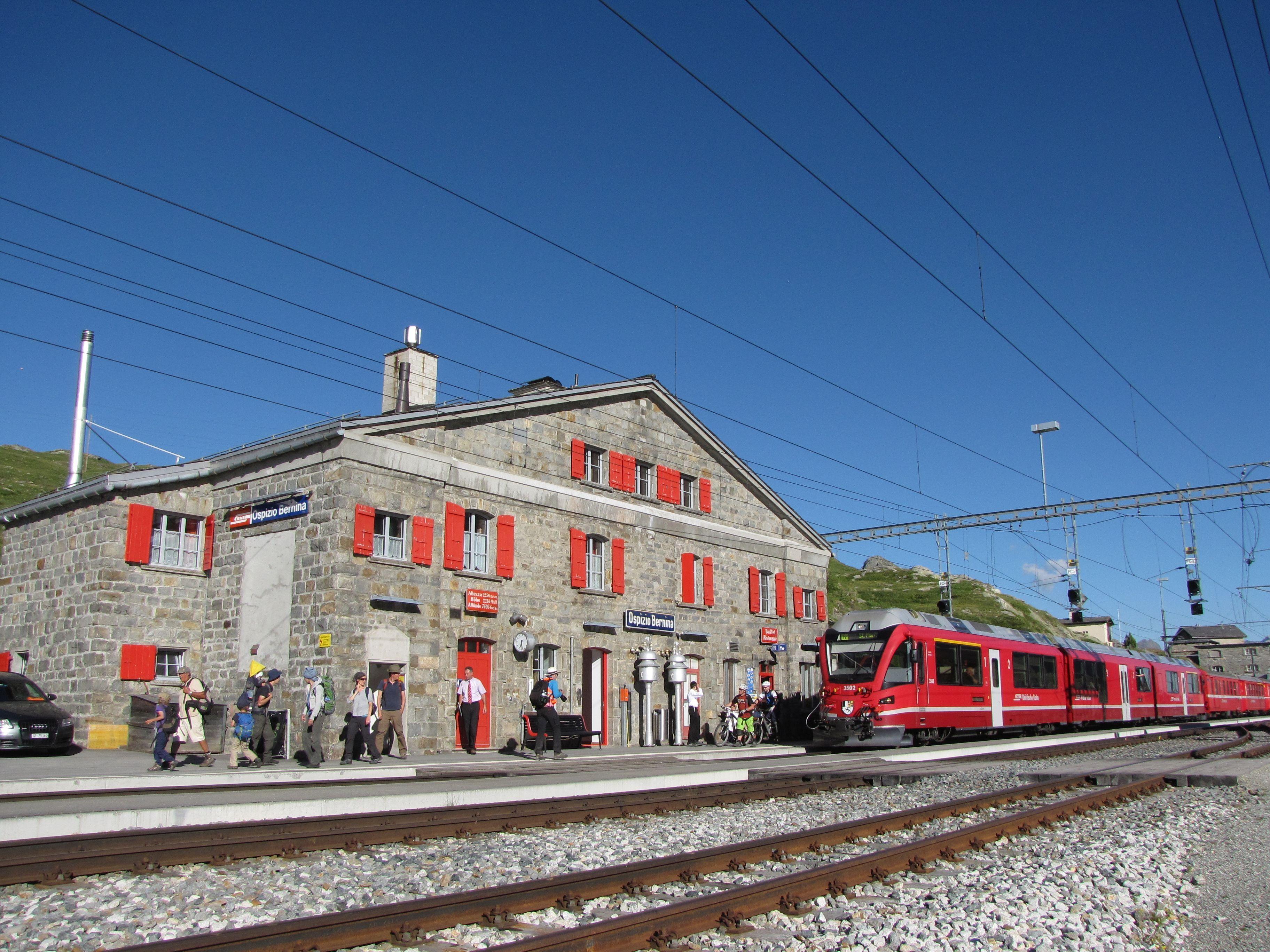 Bahnhofbuffet Ospizio Bernina