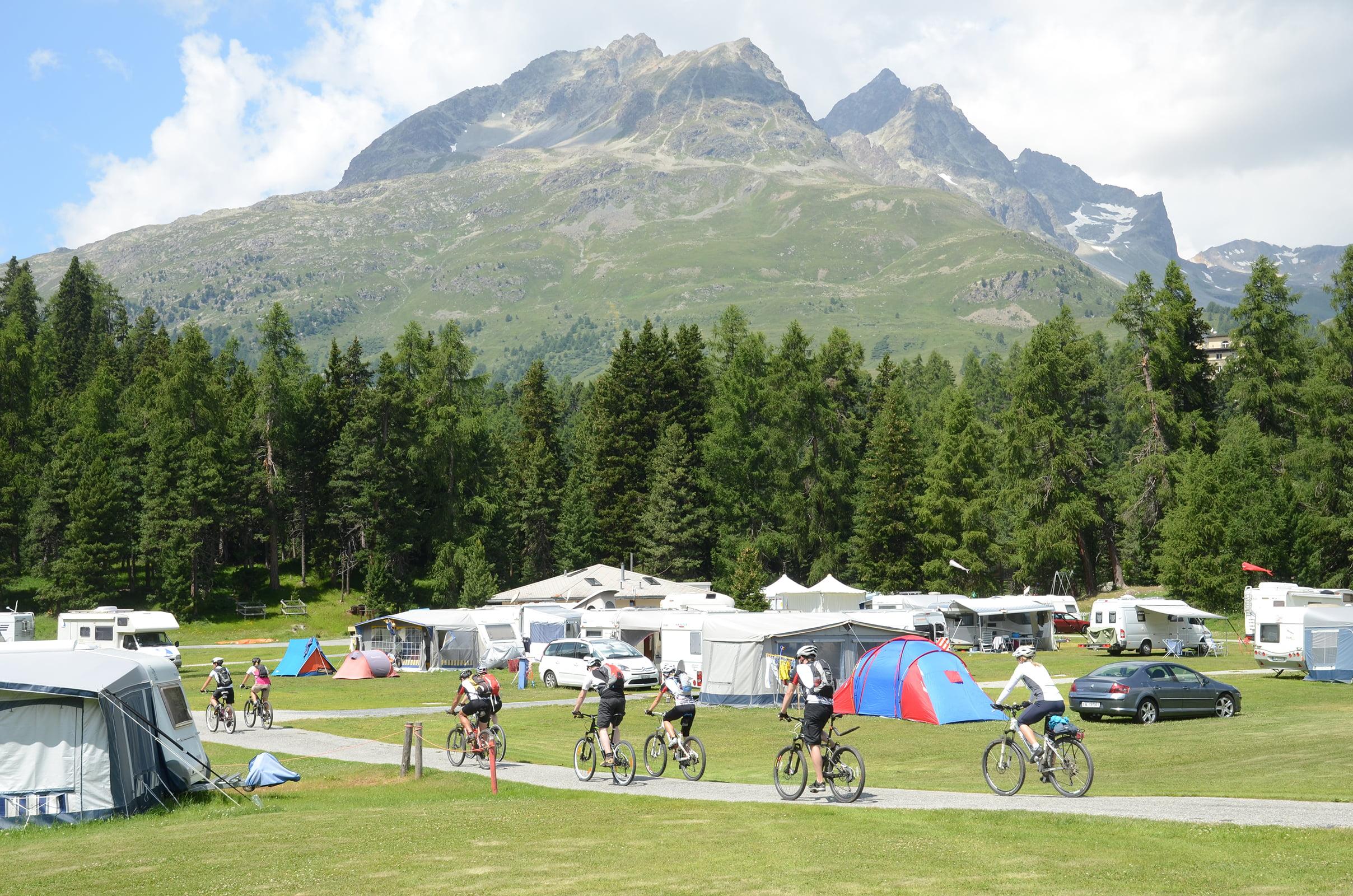 TCS Camping, St. Moritz
