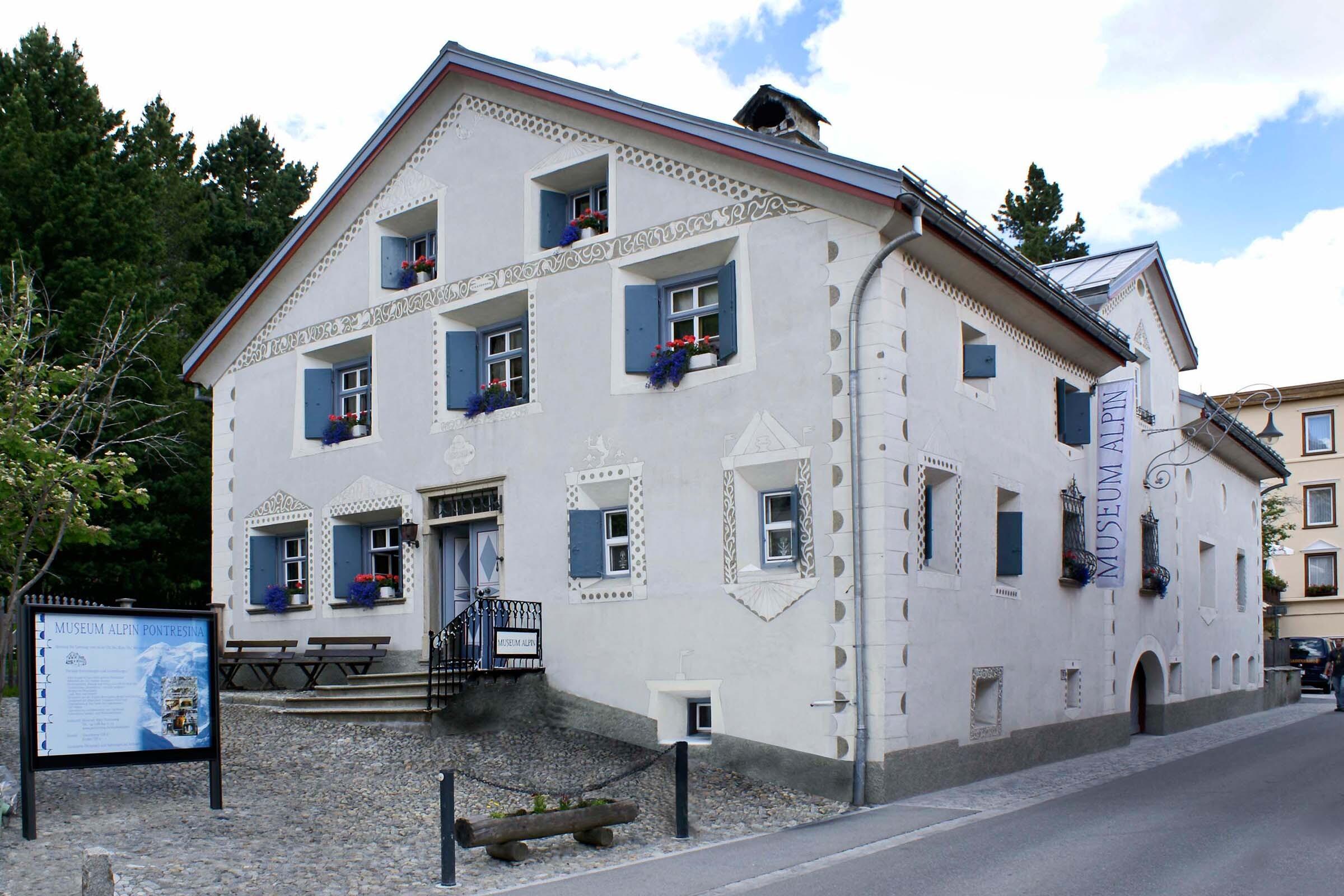 SAC Bibliothek, Museum Alpin Slide 3