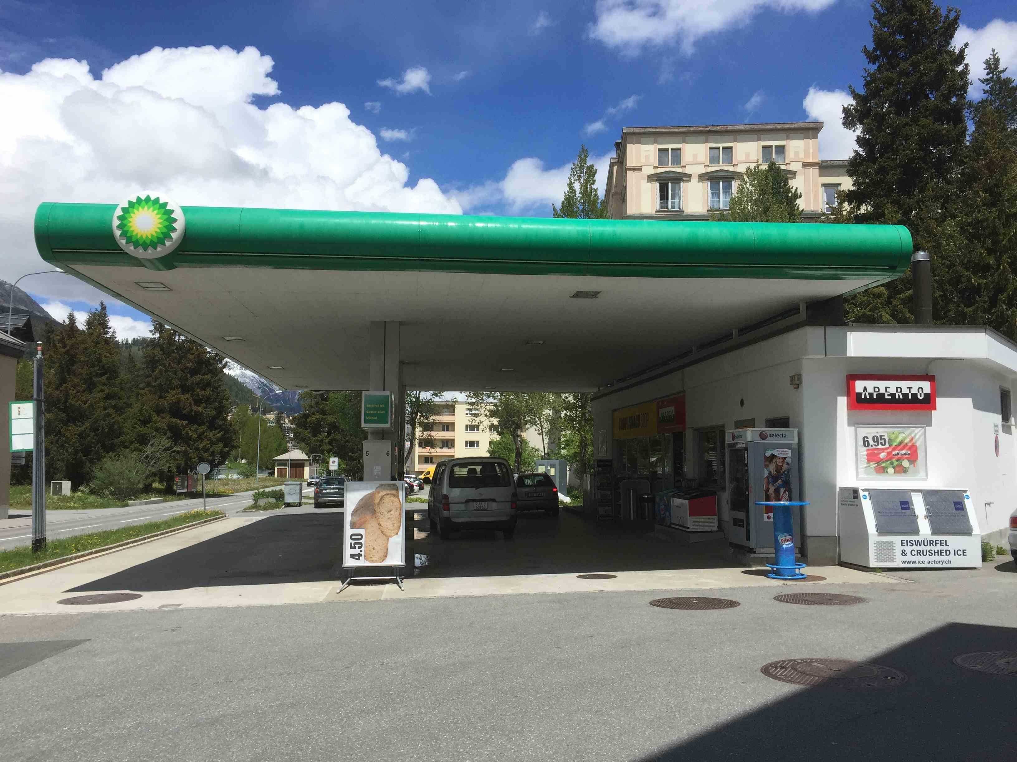 BP Tankstellen - Shop Slide 1
