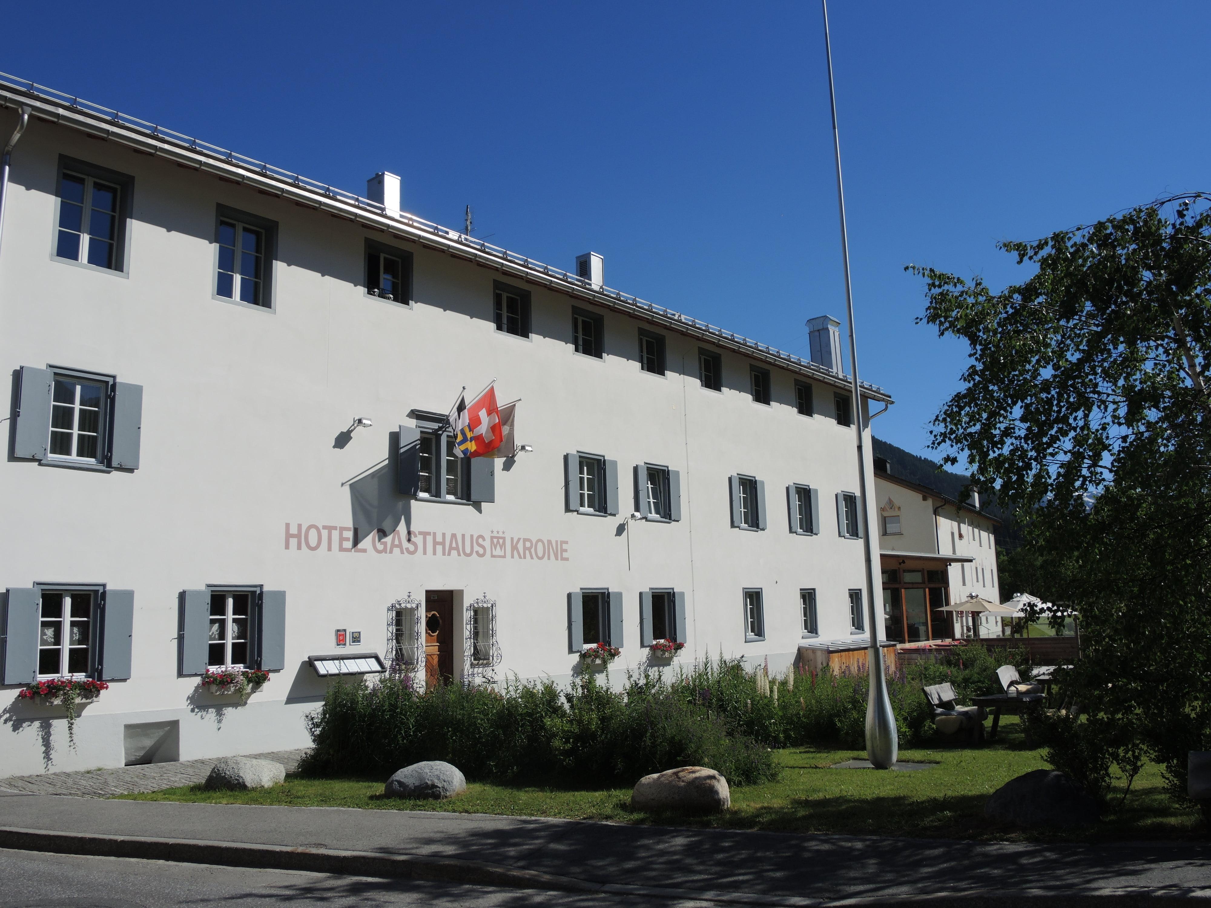 Hotel Gasthaus Krone, La Punt