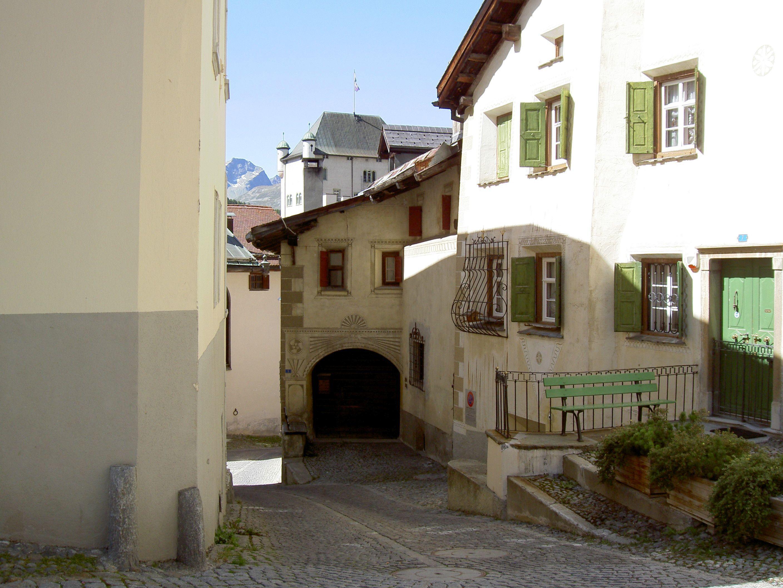 Old village part: Laret Slide 5
