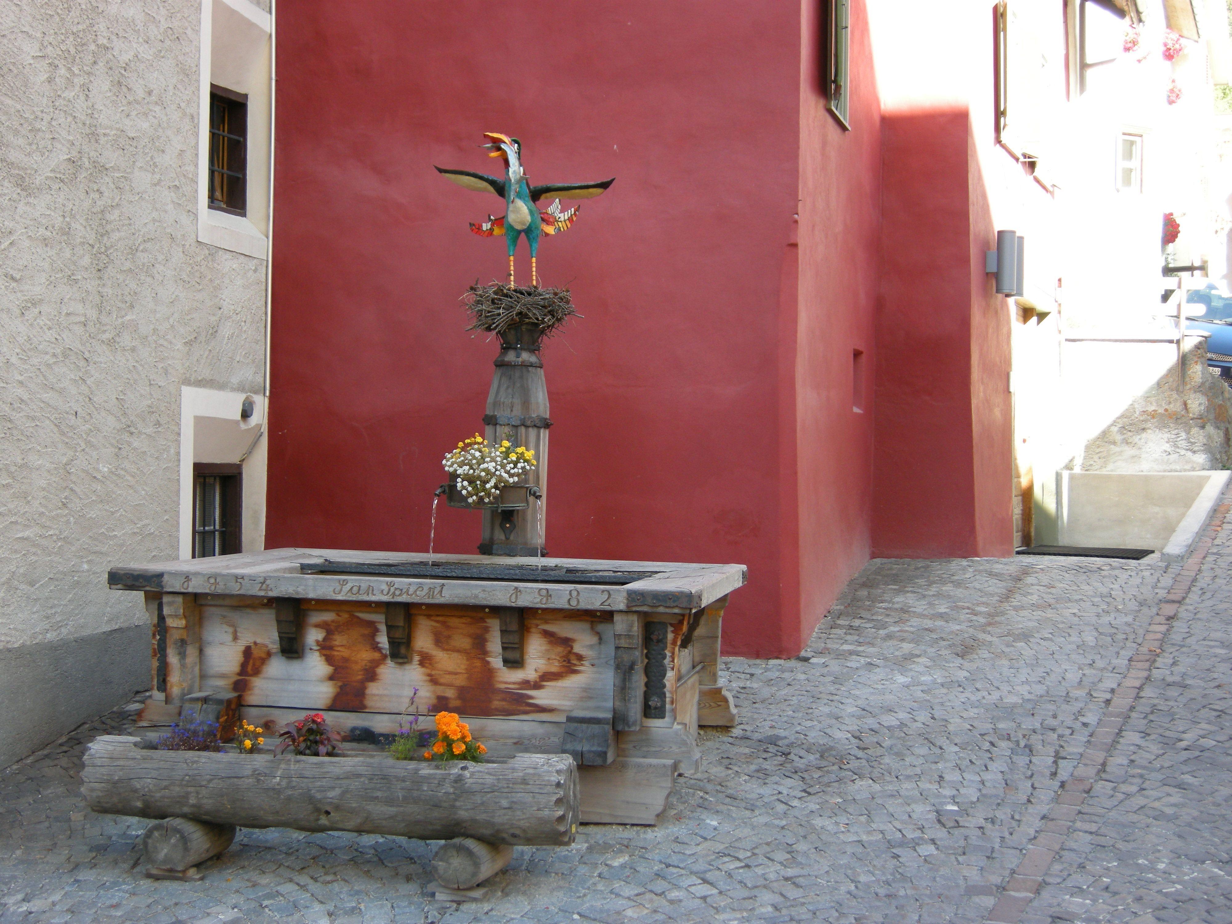 Historischer Dorfteil: San Spiert Slide 1