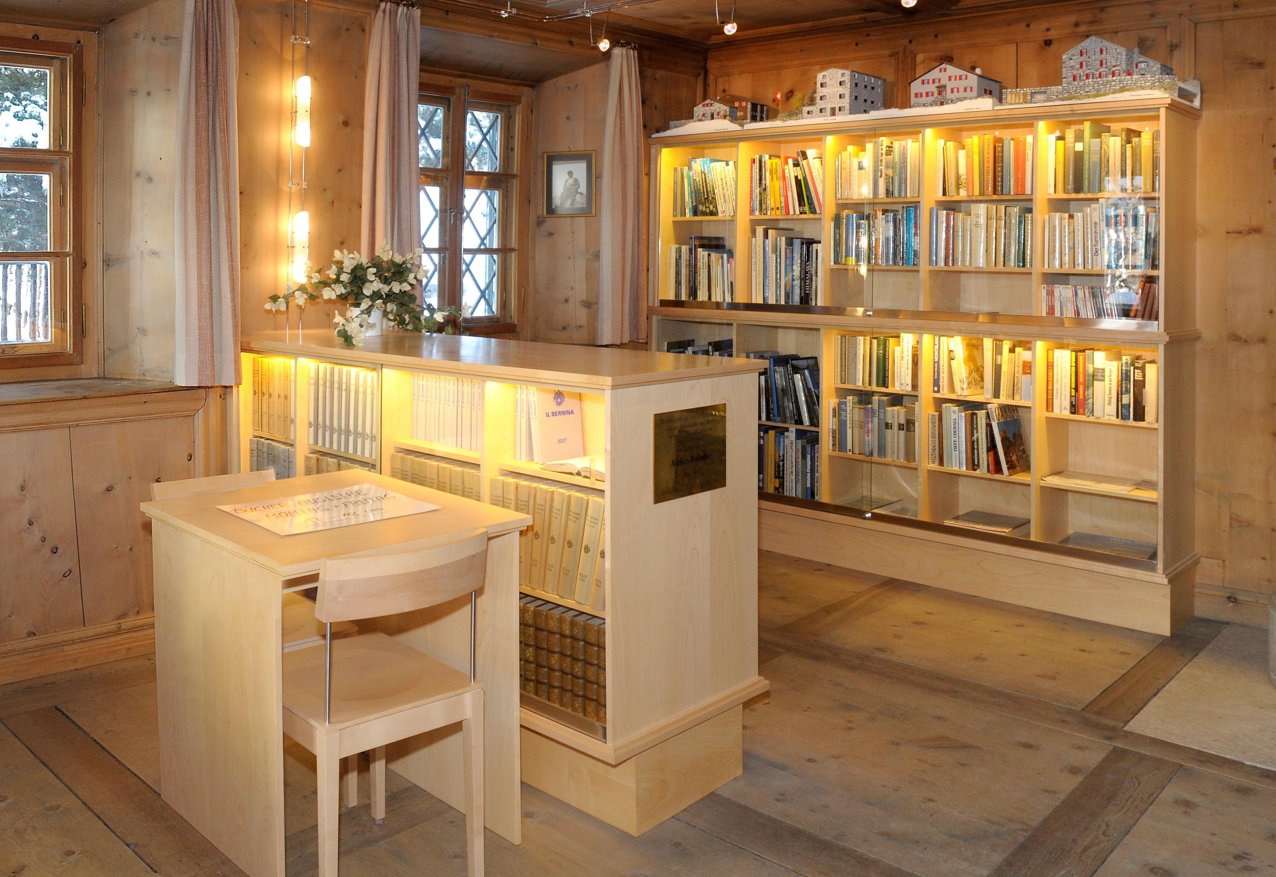 SAC Bibliothek, Museum Alpin
