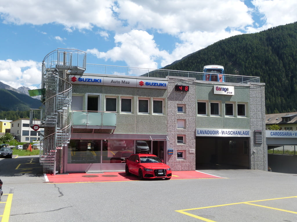 Garage auto maz ag zernez sommer in engadin st moritz for Garage auto saint priest